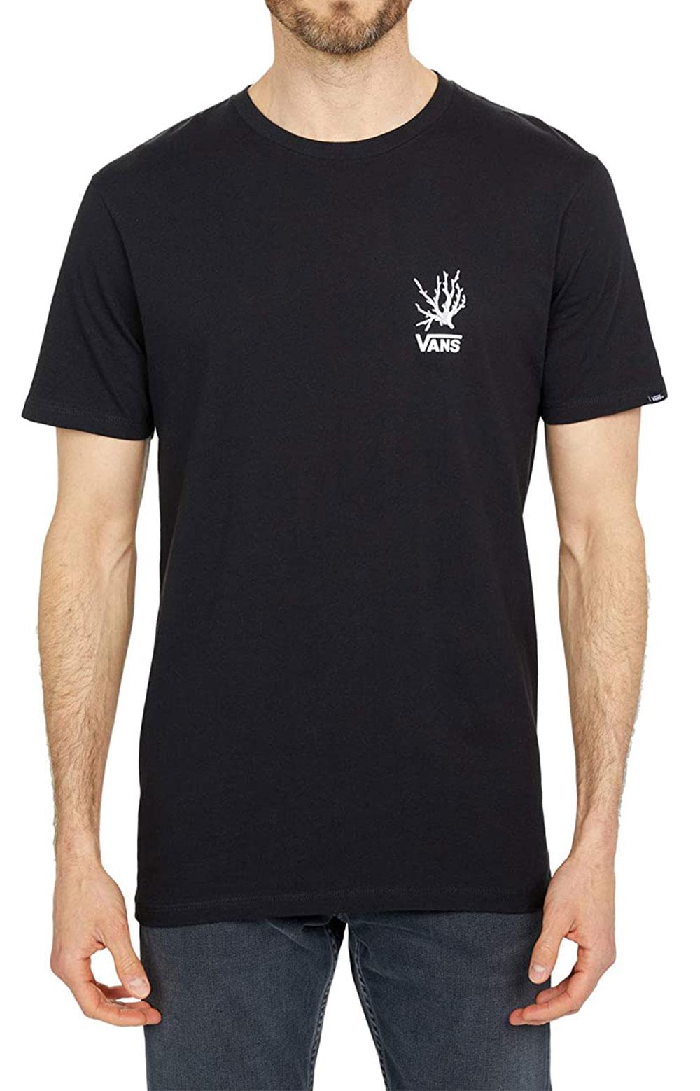 Reality Coral T-Shirt - Black  3