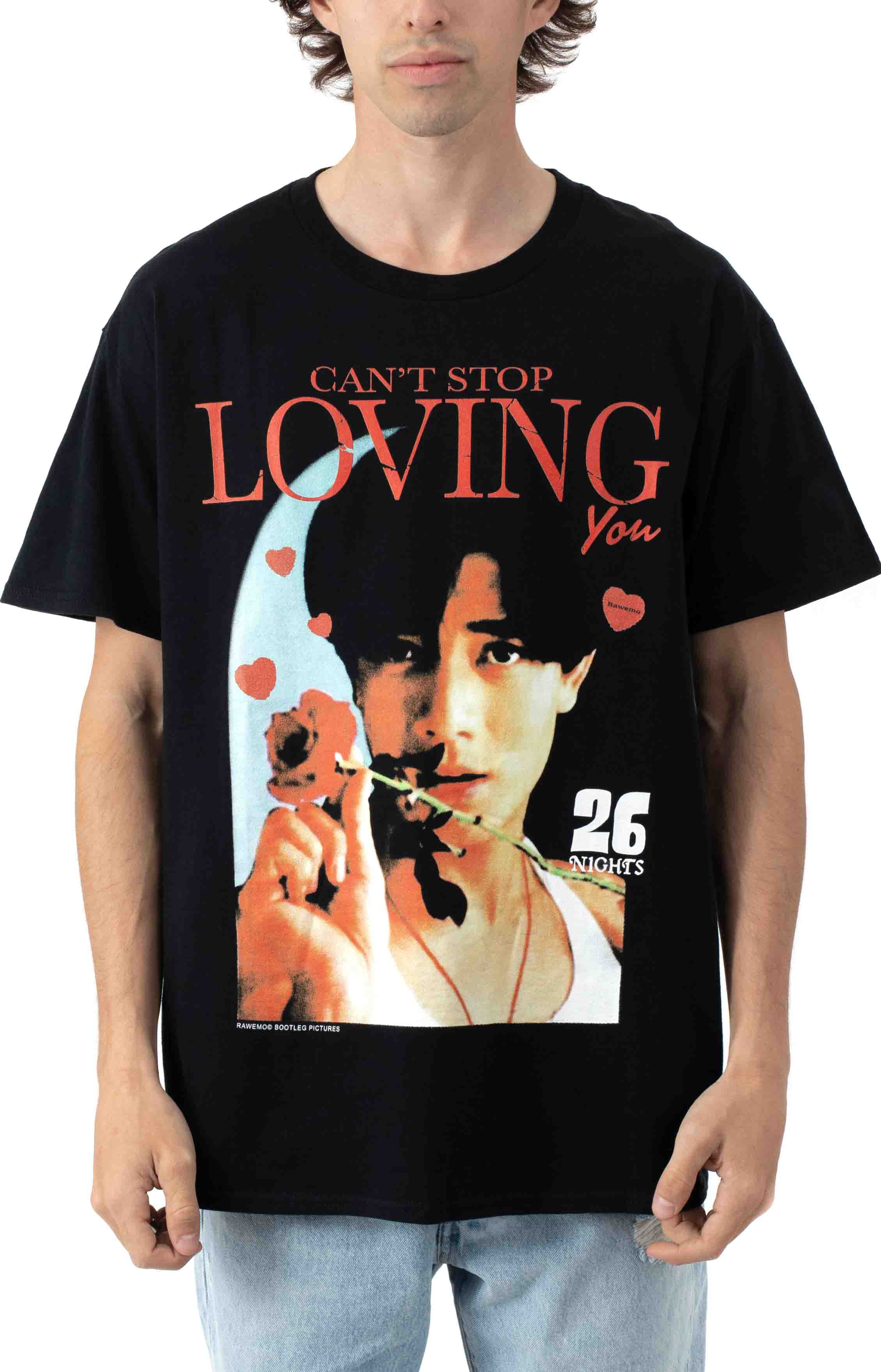 Can't Stop Loving You T-Shirt - Black