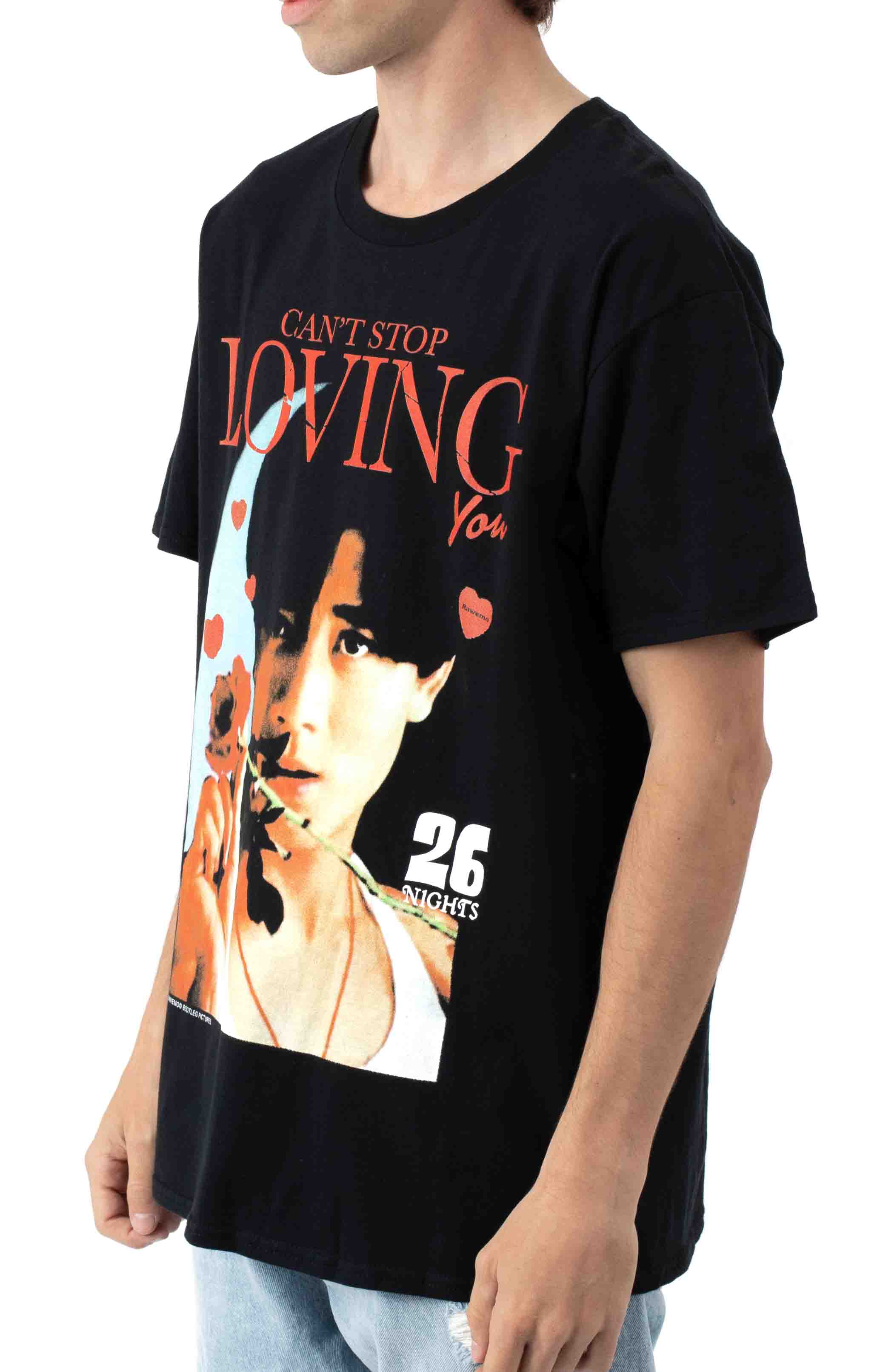 Can't Stop Loving You T-Shirt - Black  2
