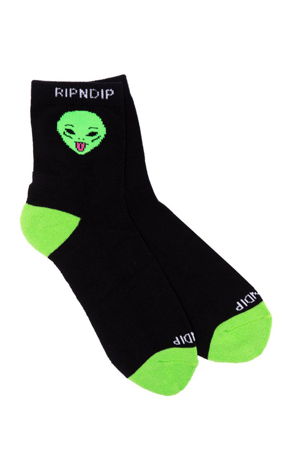 We Out Here Mid Socks - Black