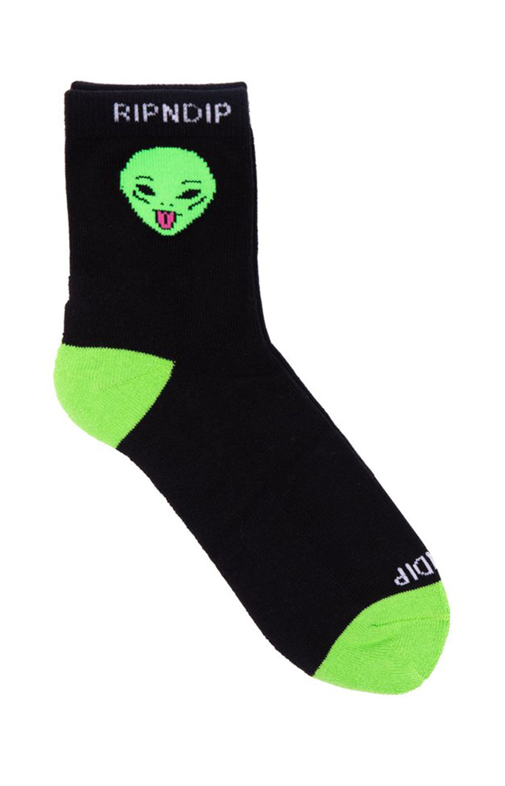 We Out Here Mid Socks - Black  2