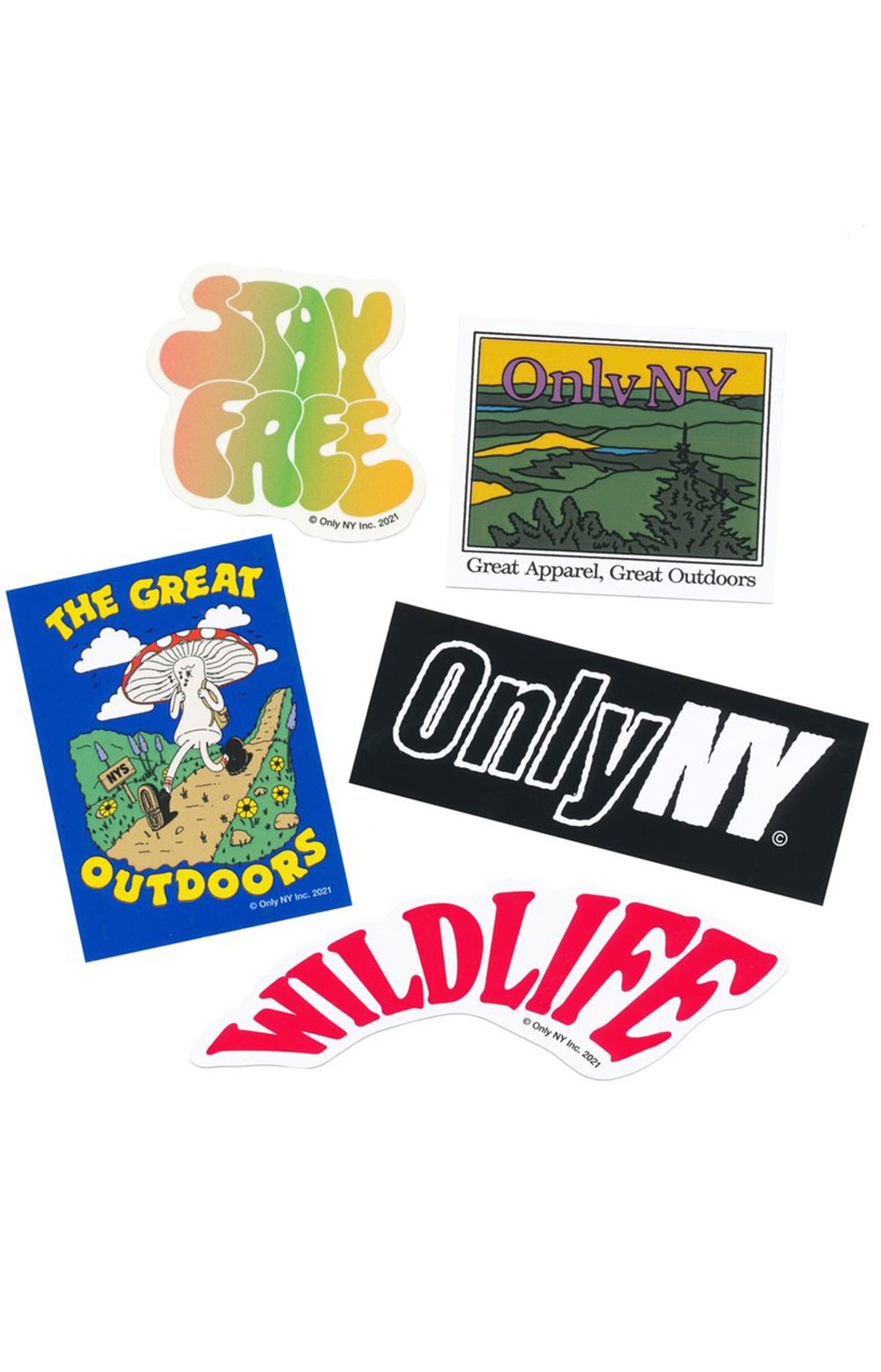 Spring / Summer 21 Sticker Pack