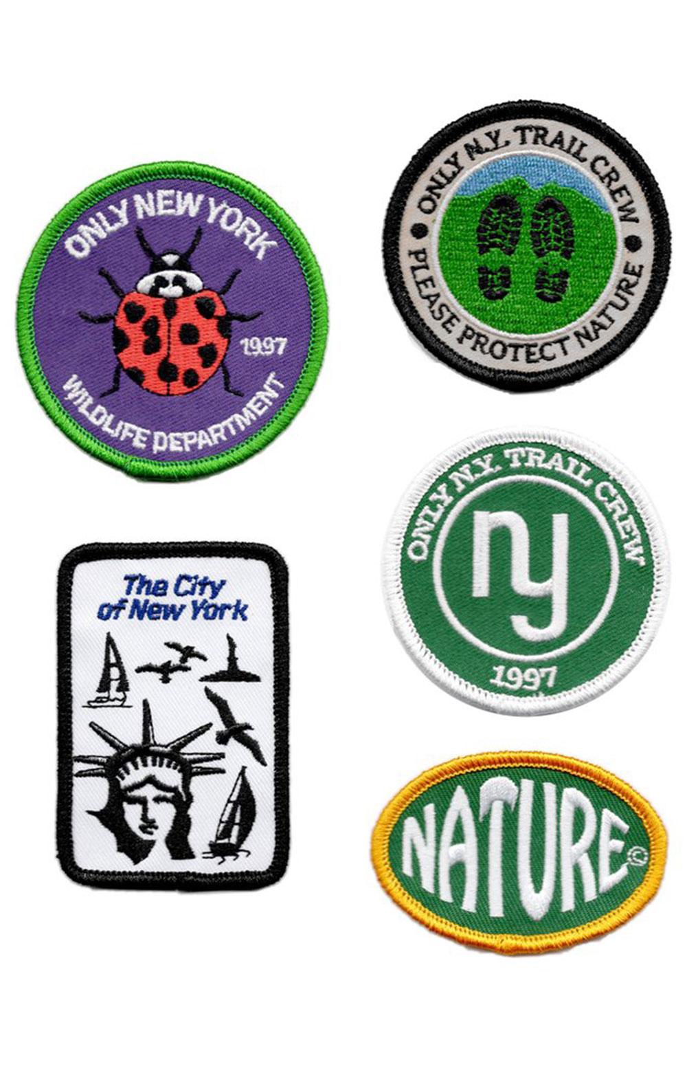 Spring / Summer 21 Patches Pack  3