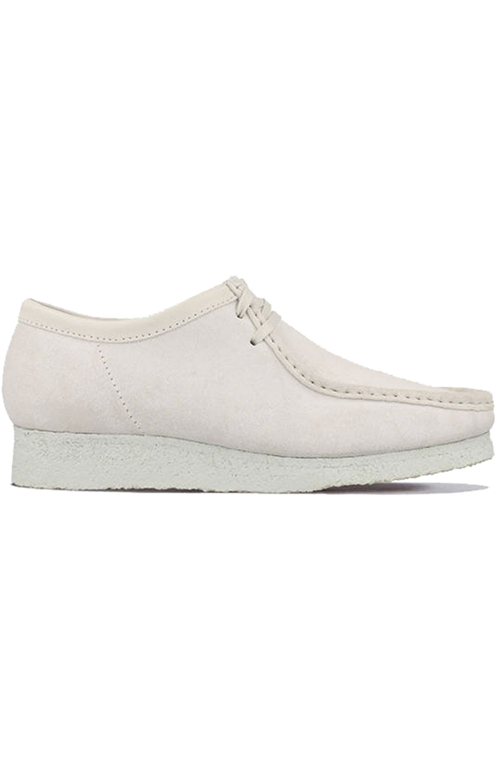 (26158421) Wallabee Shoes - White Suede