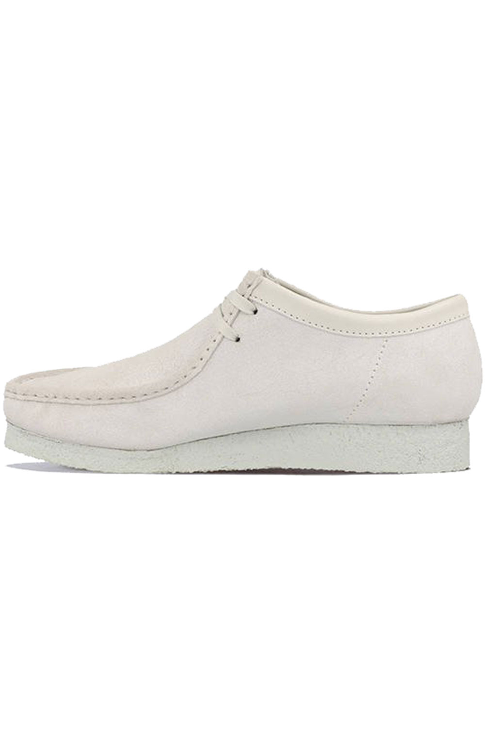 (26158421) Wallabee Shoes - White Suede 3