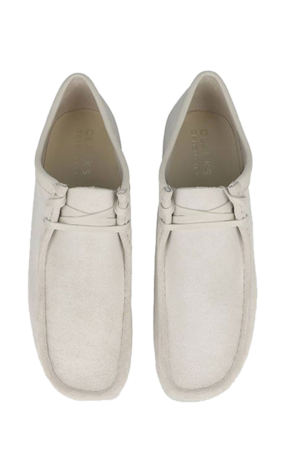 (26158421) Wallabee Shoes - White Suede 4