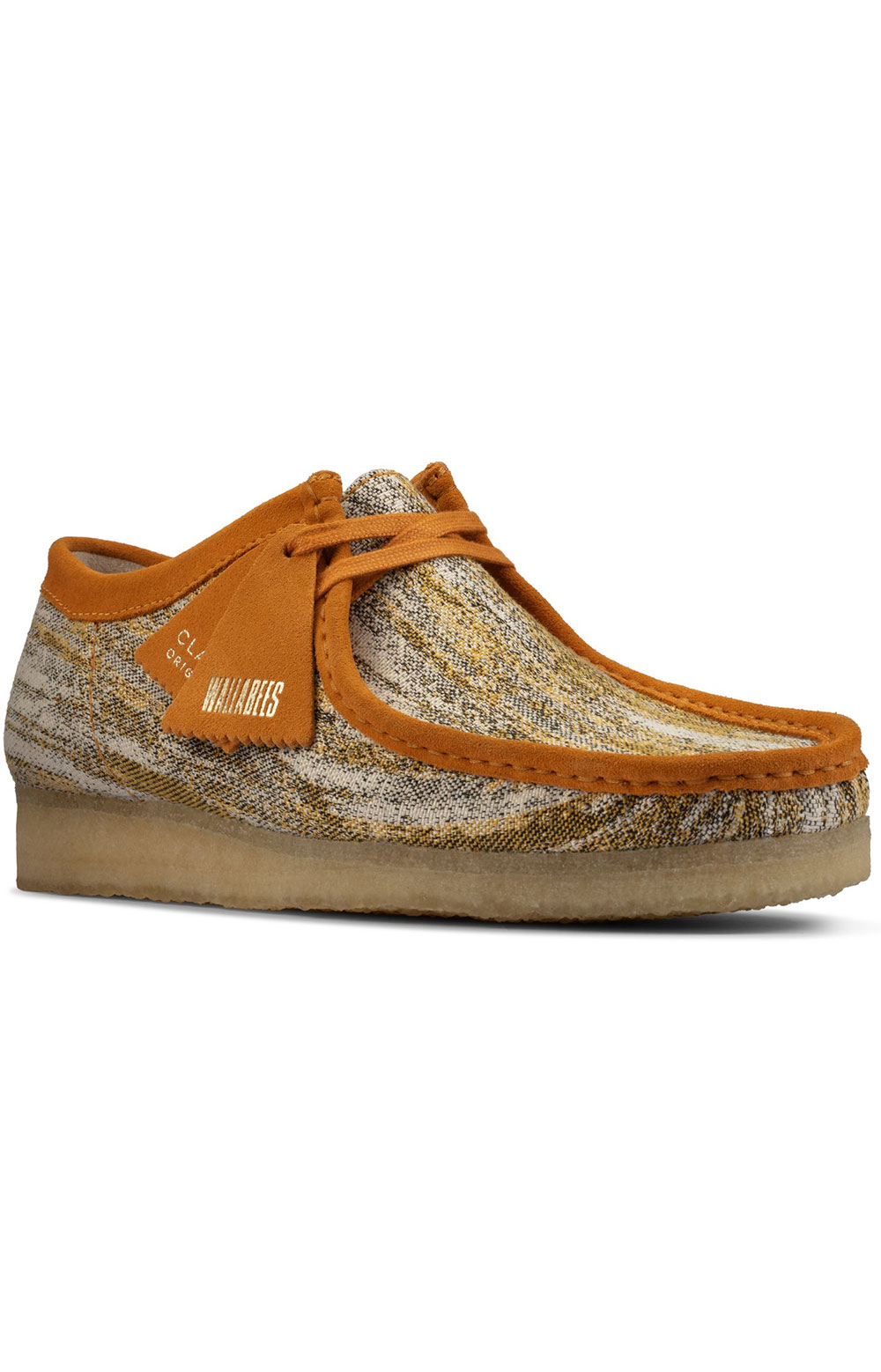 (26159548) Wallabee Shoes - Sand Fabric  3