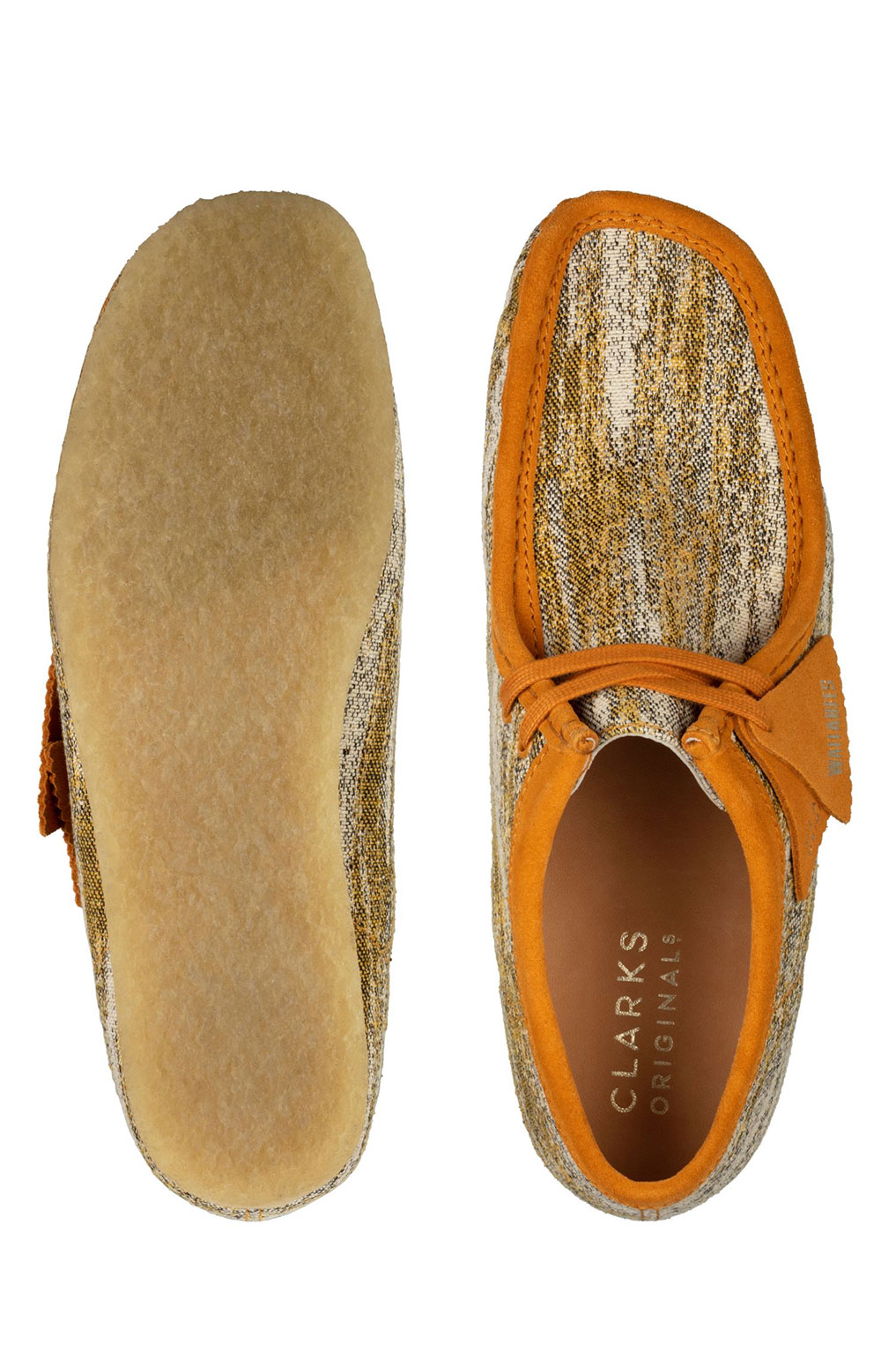 (26159548) Wallabee Shoes - Sand Fabric  6