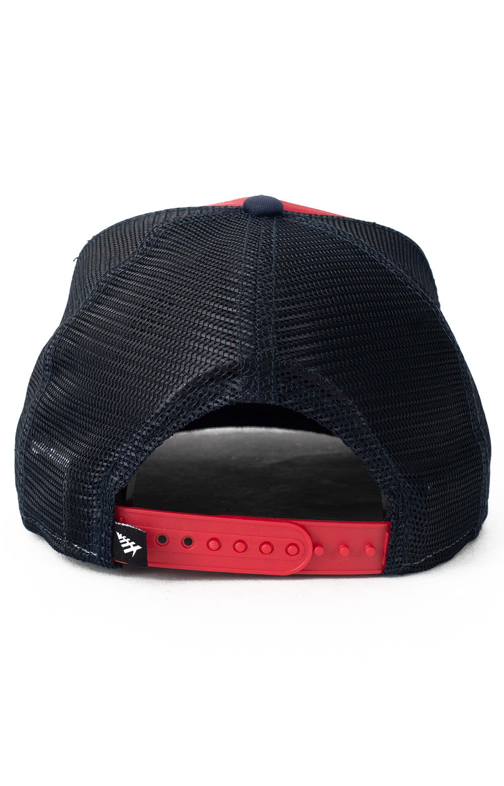 Planes Crew Trucker Two Tone Old School Snap-Back Hat - Red/Navy 3