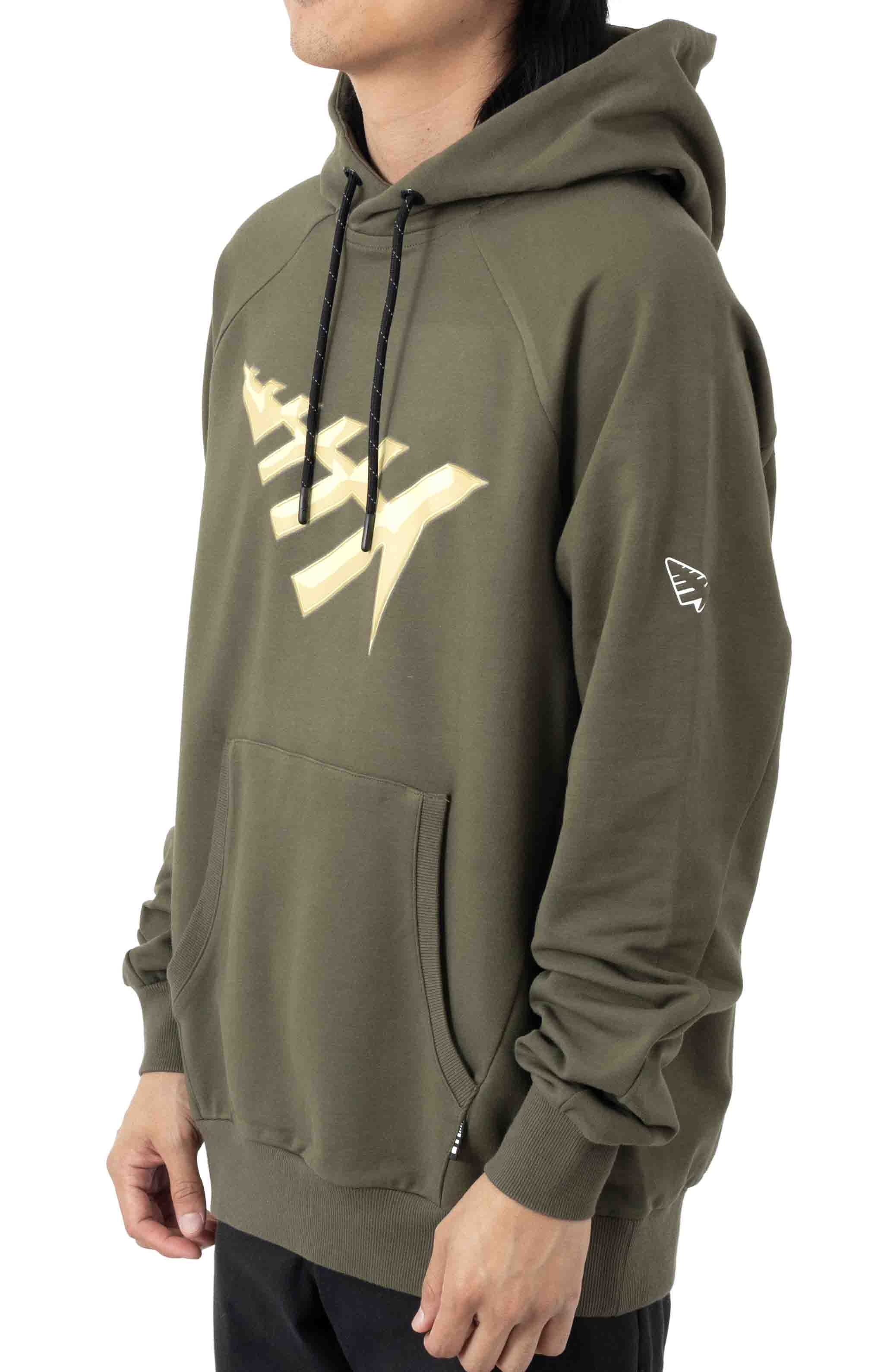 All Points Pullover Hoodie - OD Green  2