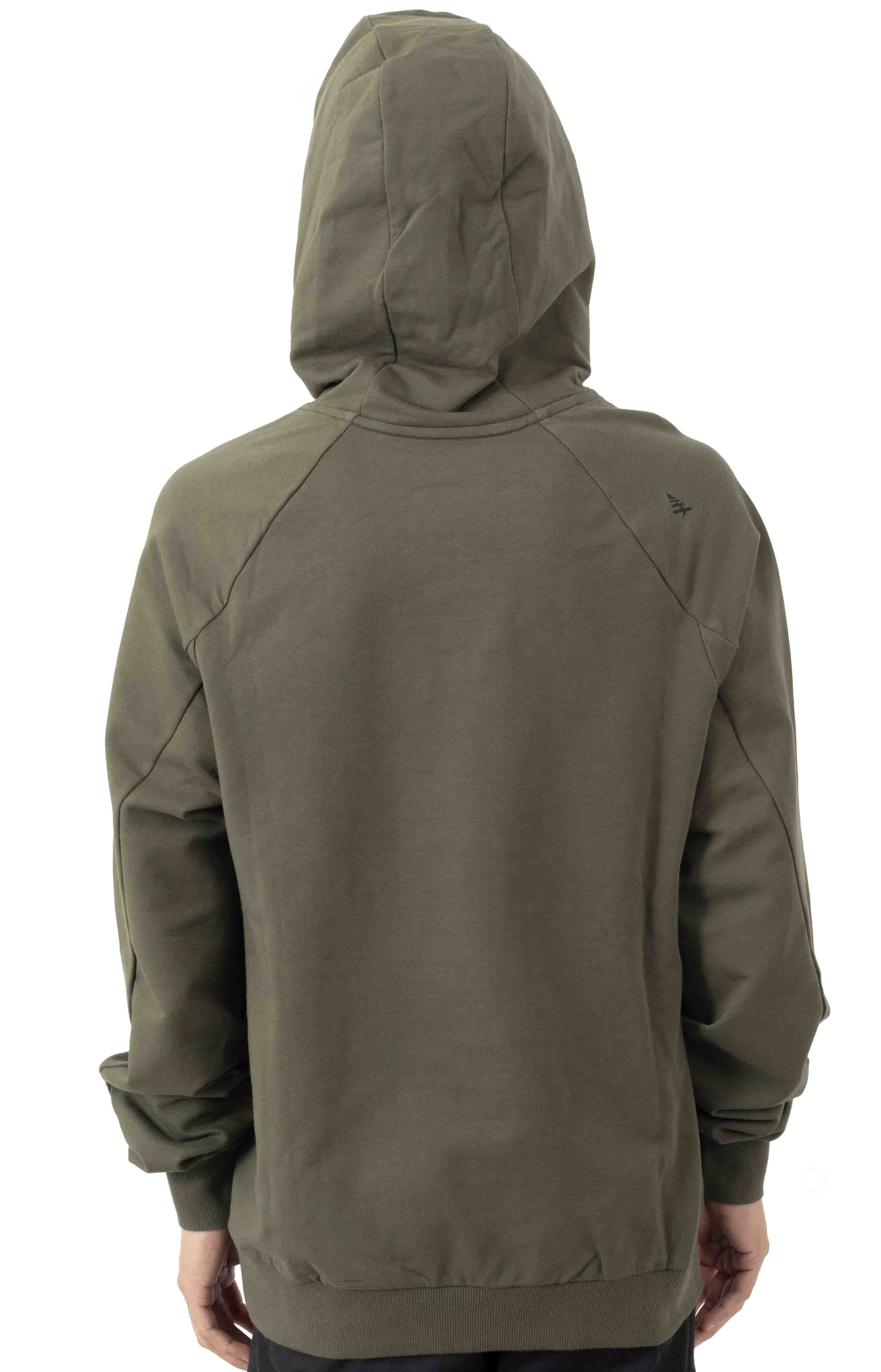 All Points Pullover Hoodie - OD Green  3