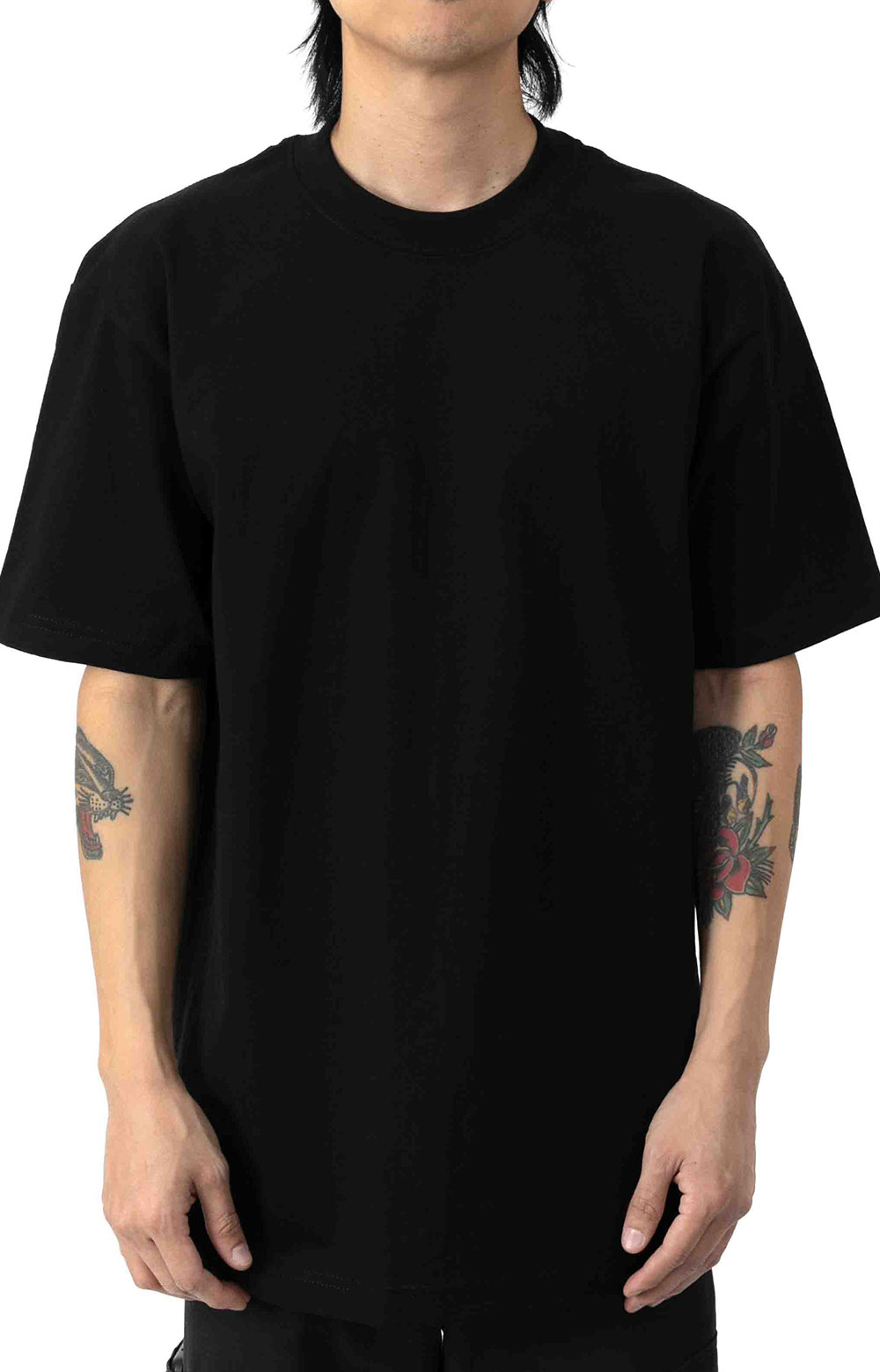 Max Heavyweight S/S T-Shirt - Black