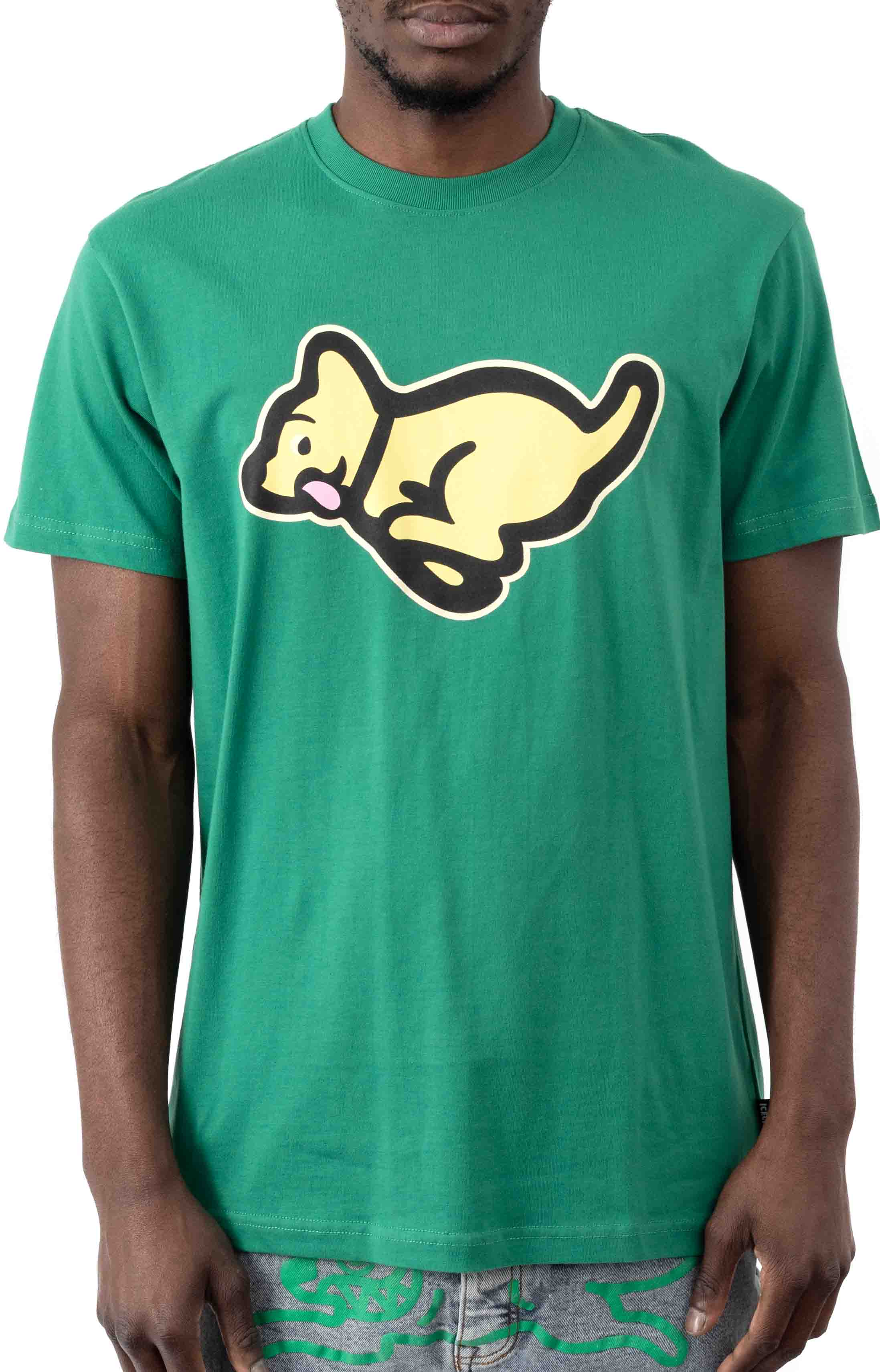 Run T-Shirt - Pine Green