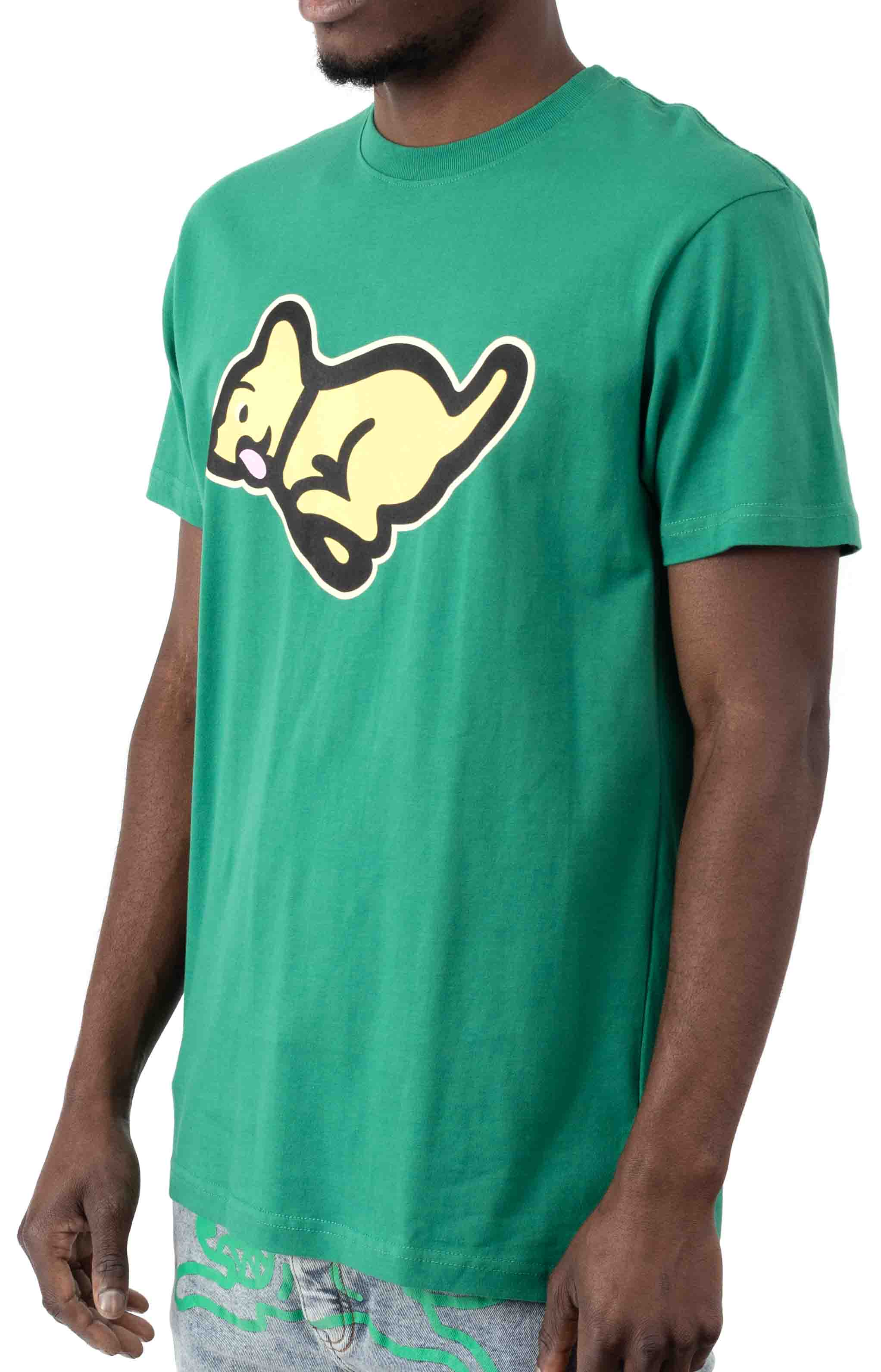 Run T-Shirt - Pine Green 2