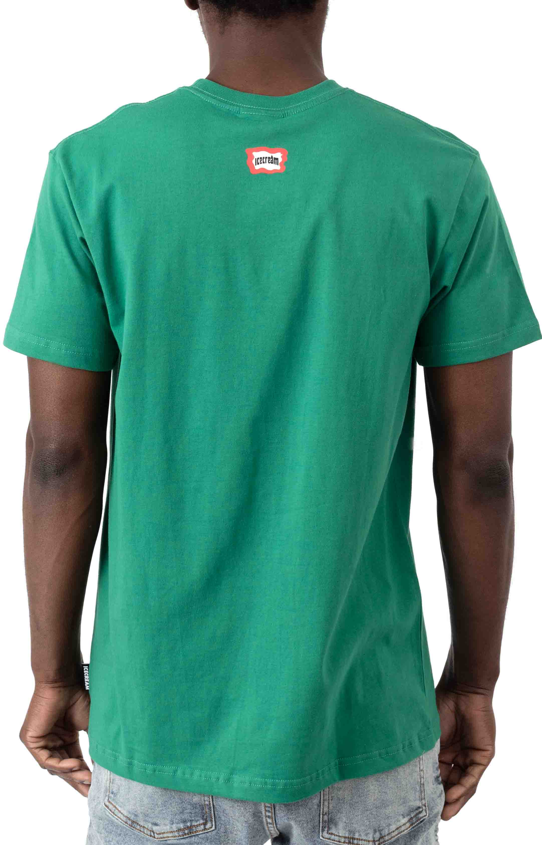 Run T-Shirt - Pine Green 3