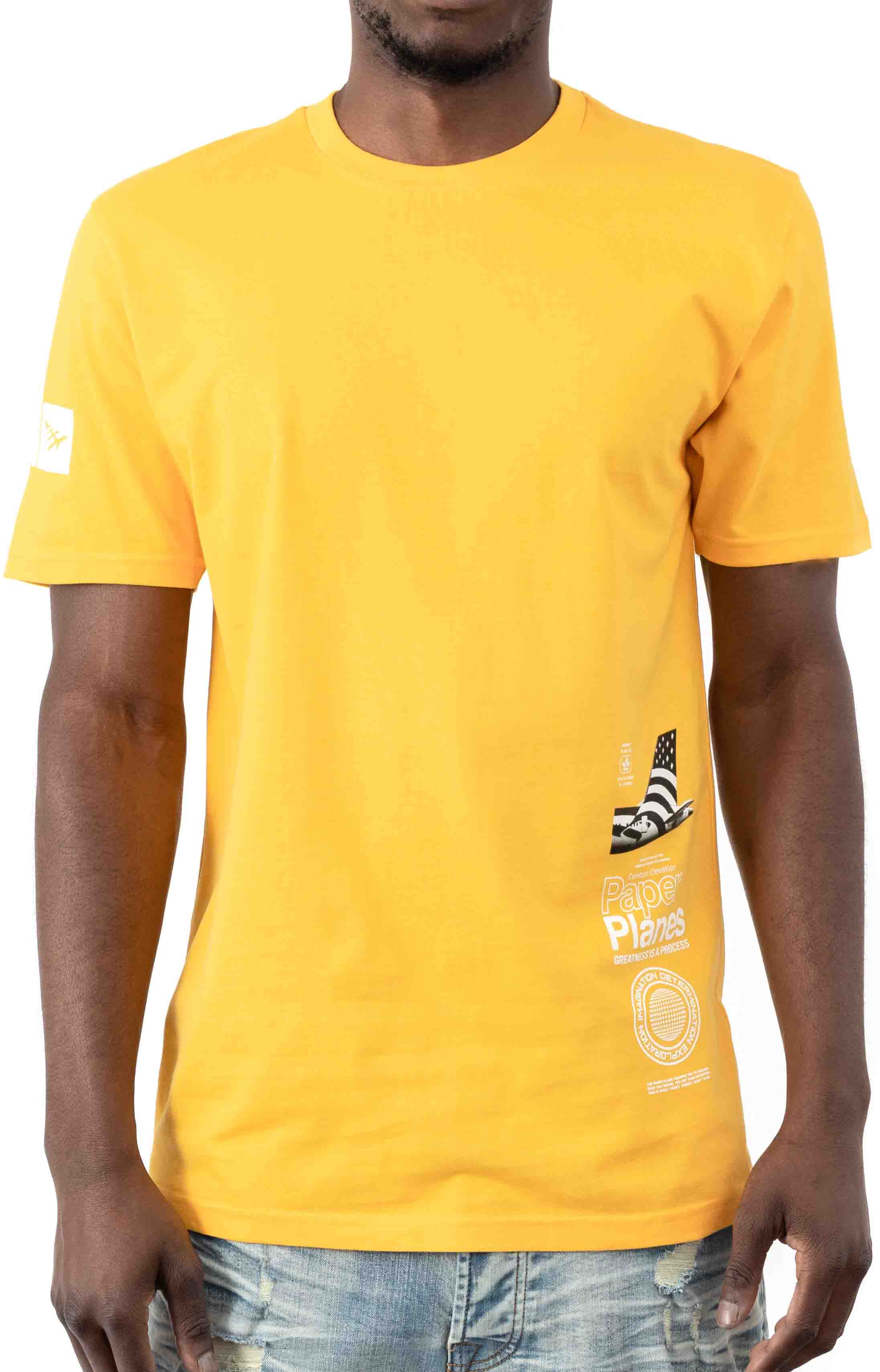 Waterfall T-Shirt - Citron