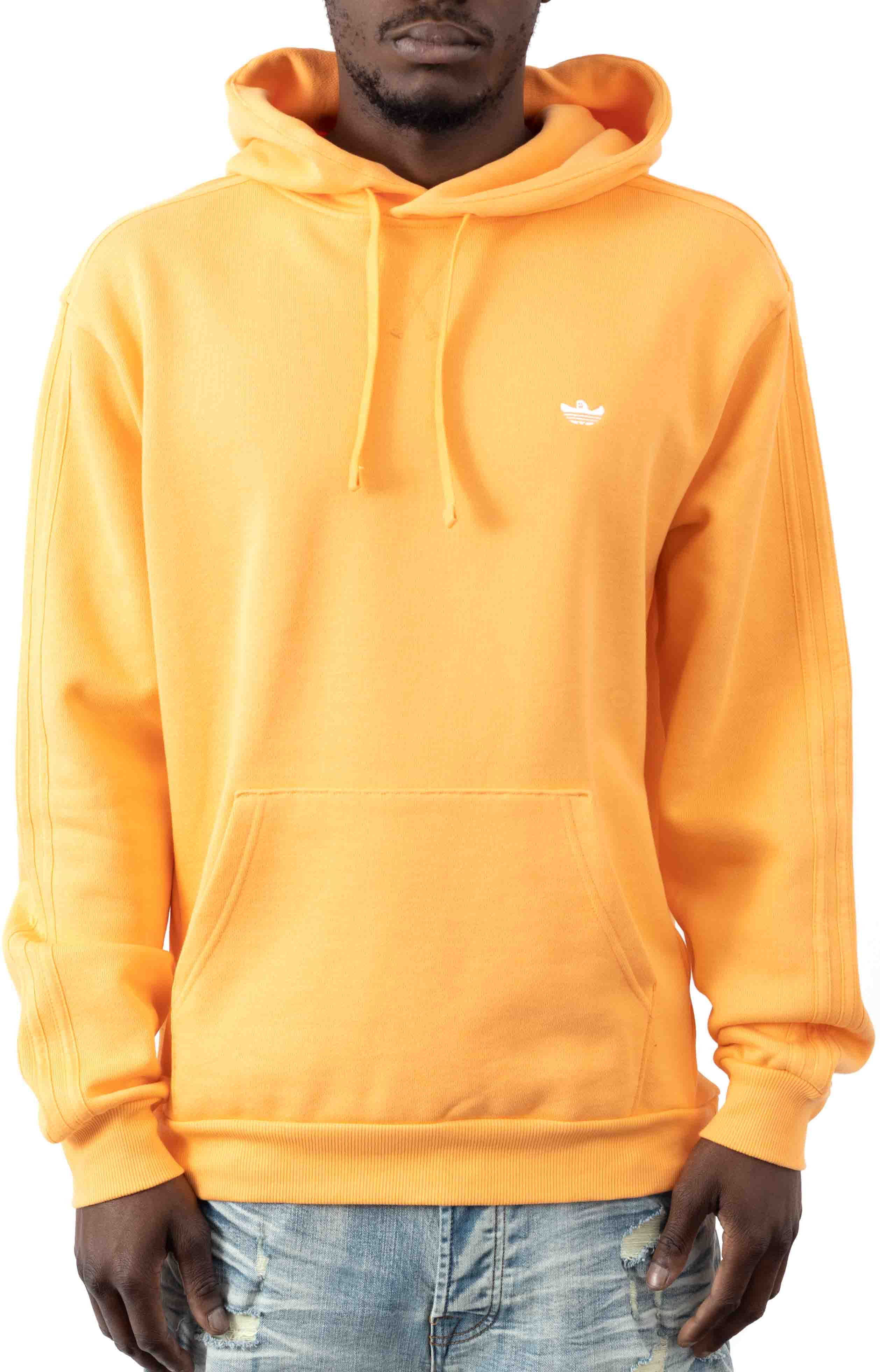 Heavyweight Shmoo Pullover Hoodie - Hazy Orange/White