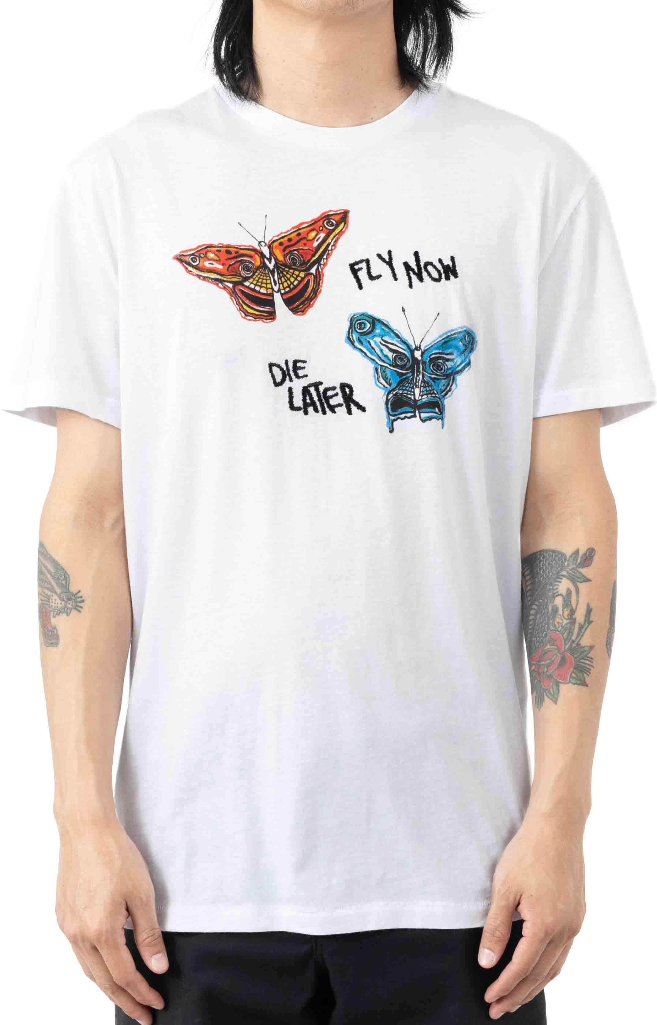 BB Fly Now Tailored  T-Shirt - White
