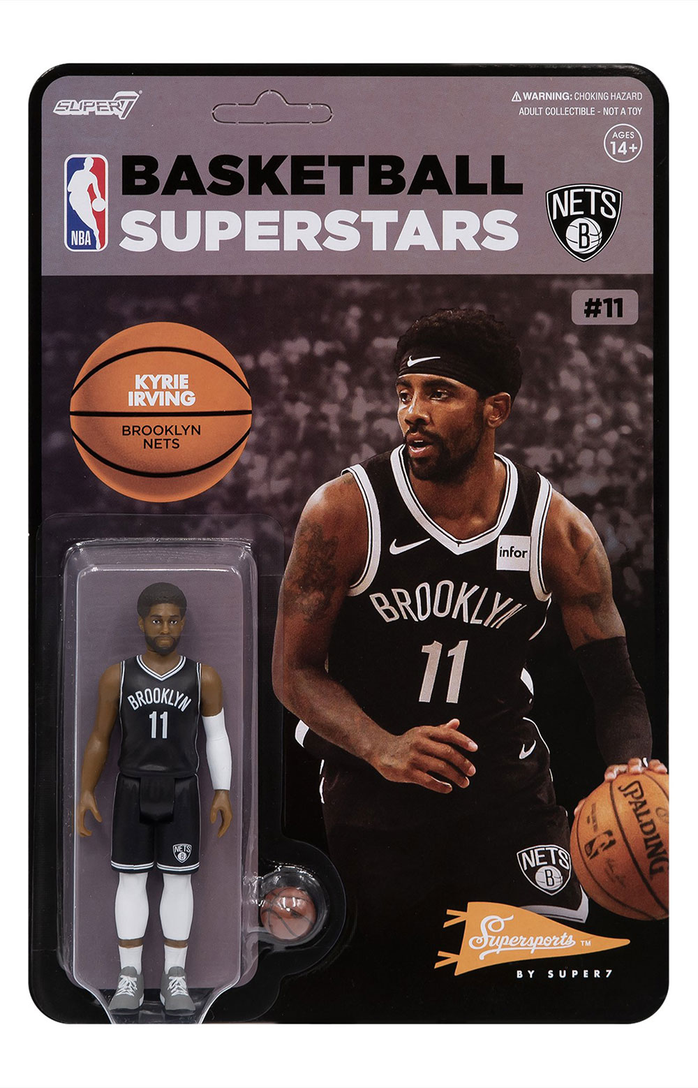 NBA Supersports Figure - Kyrie Irving (Nets) 2