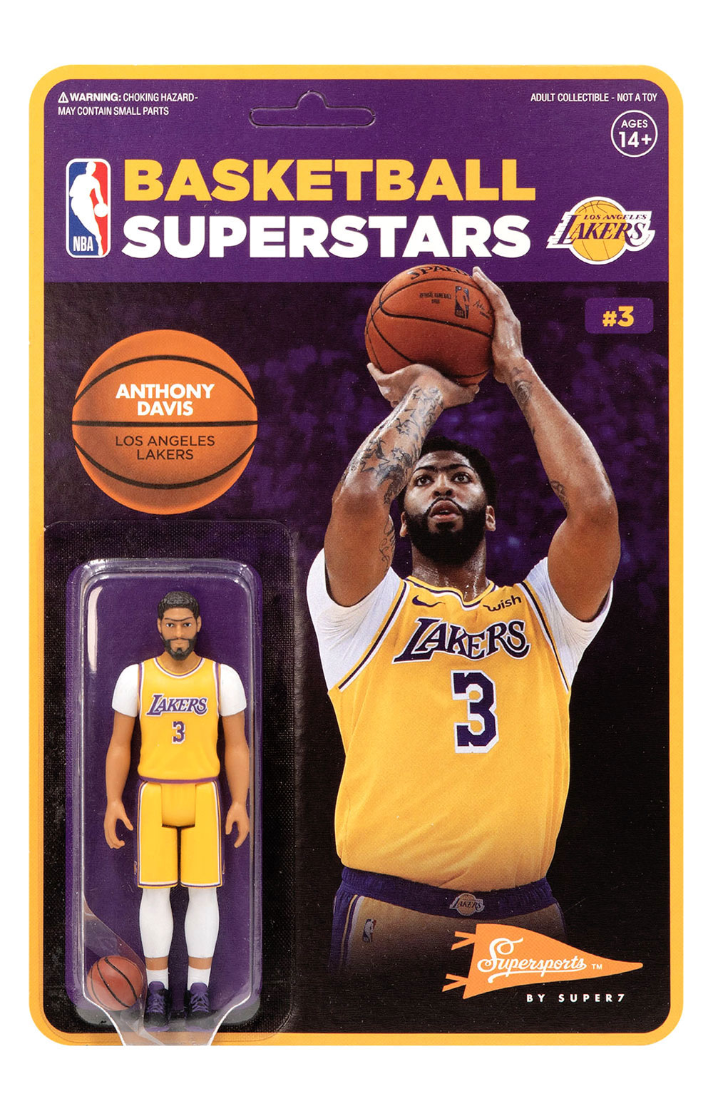 NBA Supersports Figure - Anthony Davis (Lakers) 2