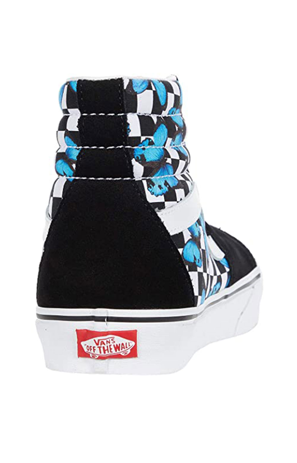 (HXV5KK) Butterfly Checkerboard Sk8-Hi Shoes  6