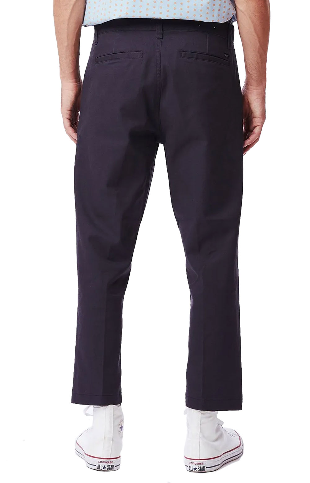 Straggler Flooded Pants - French Navy 2