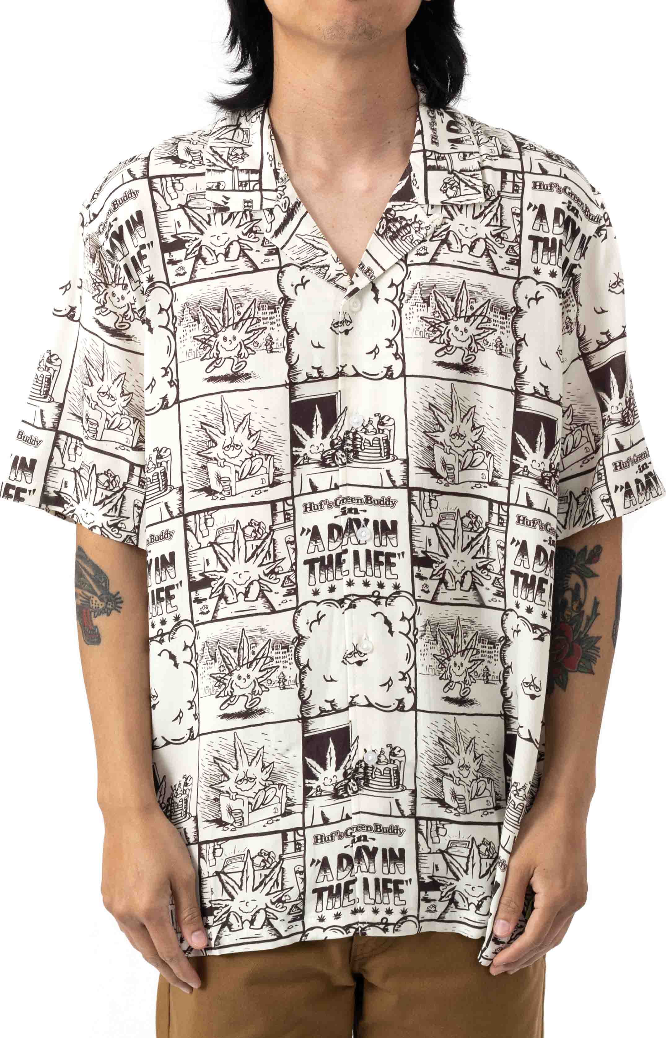 Day In The Life Button-Up Shirt - Natural