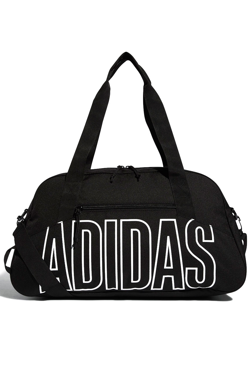 Graphic Duffel Bag - Black/White  1