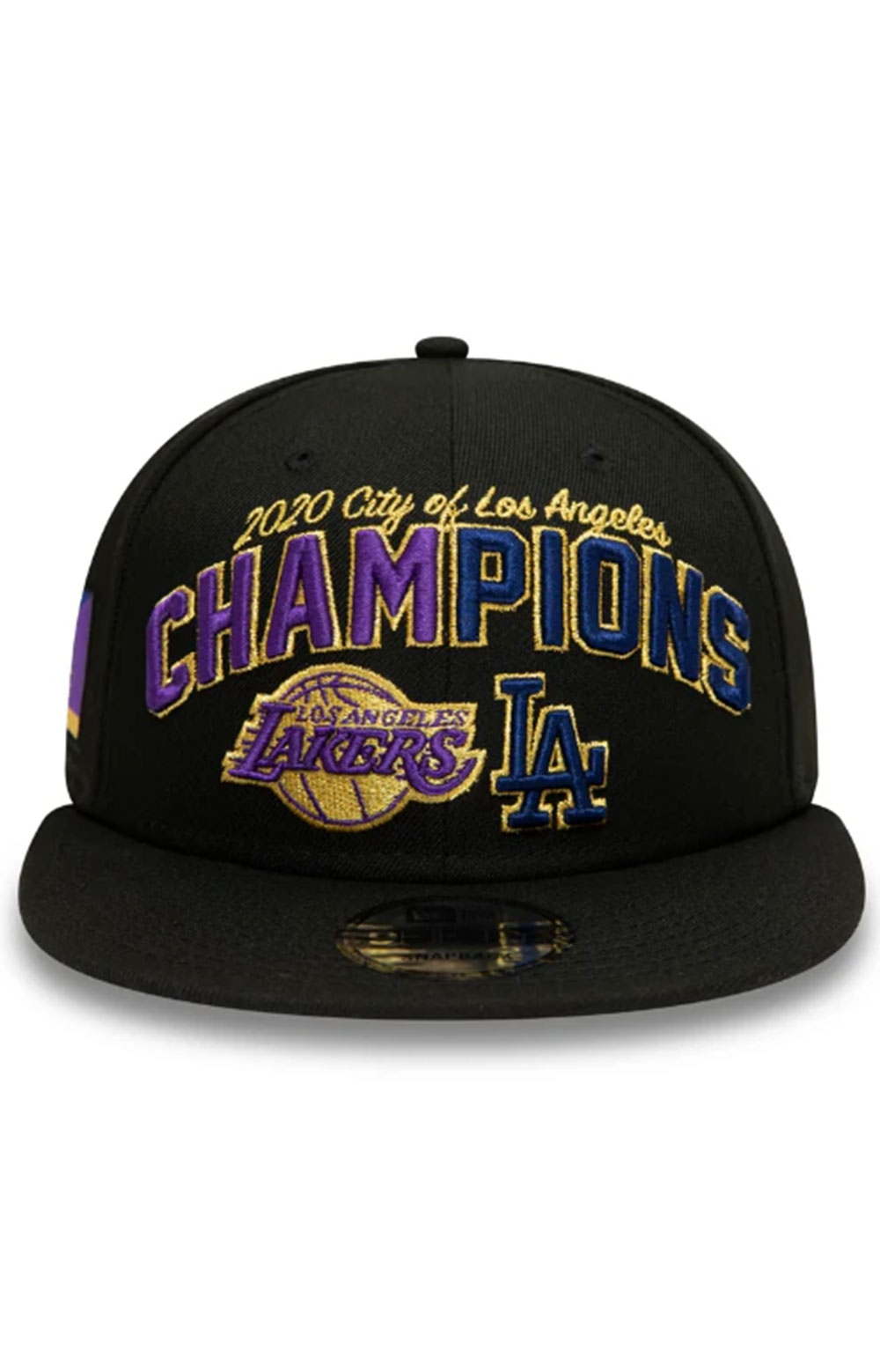 Los Angeles Co Champs 2020 9FIFTY Snap-Back - Black 3