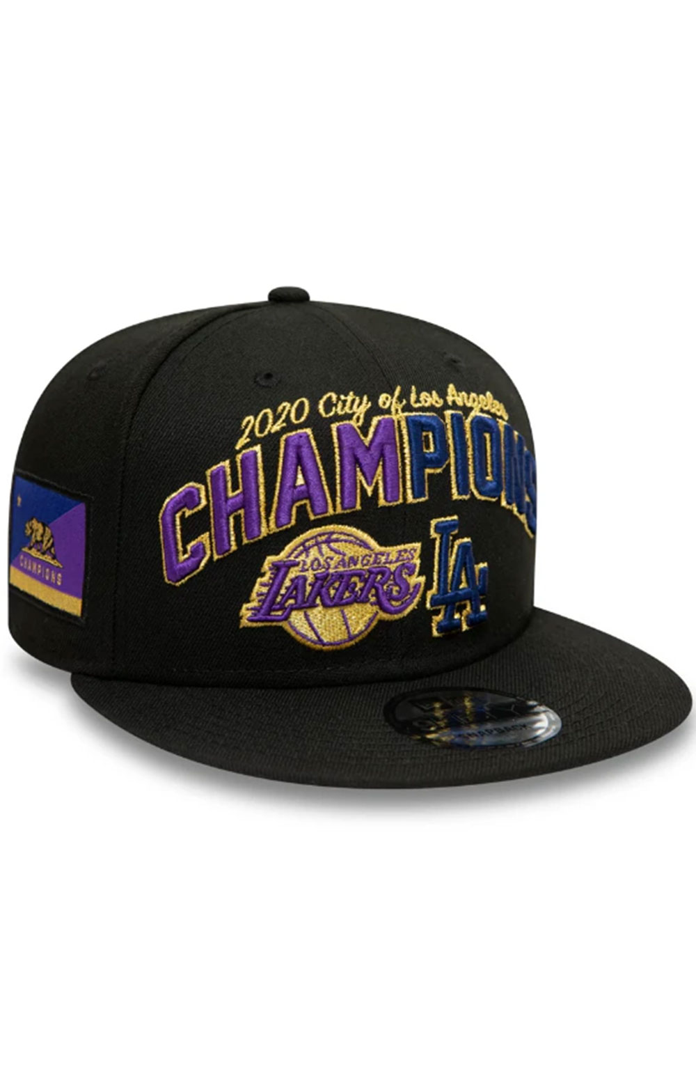 Los Angeles Co Champs 2020 9FIFTY Snap-Back - Black 5