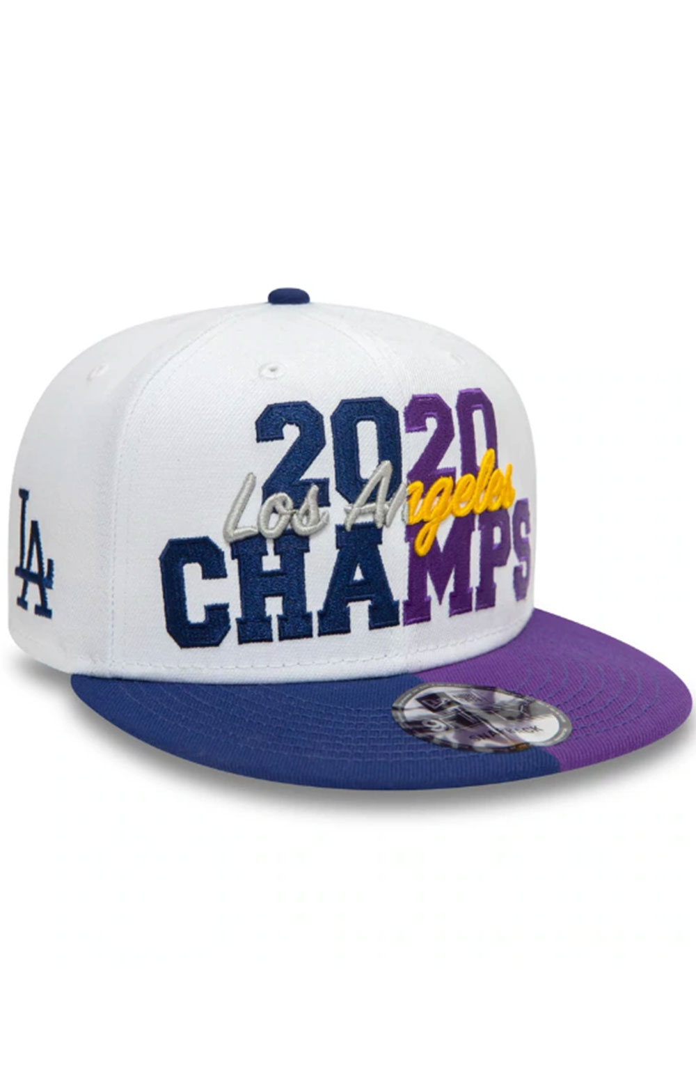 Los Angeles Co Champs 2020 9FIFTY Snap-Back - White  3