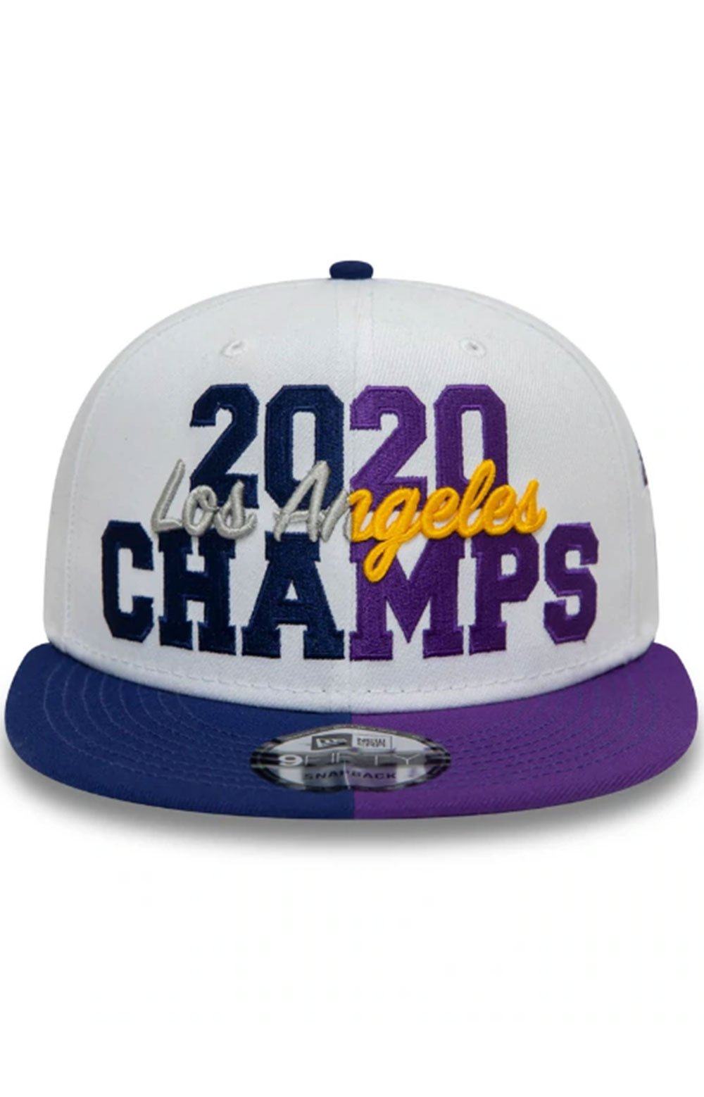 Los Angeles Co Champs 2020 9FIFTY Snap-Back - White  4