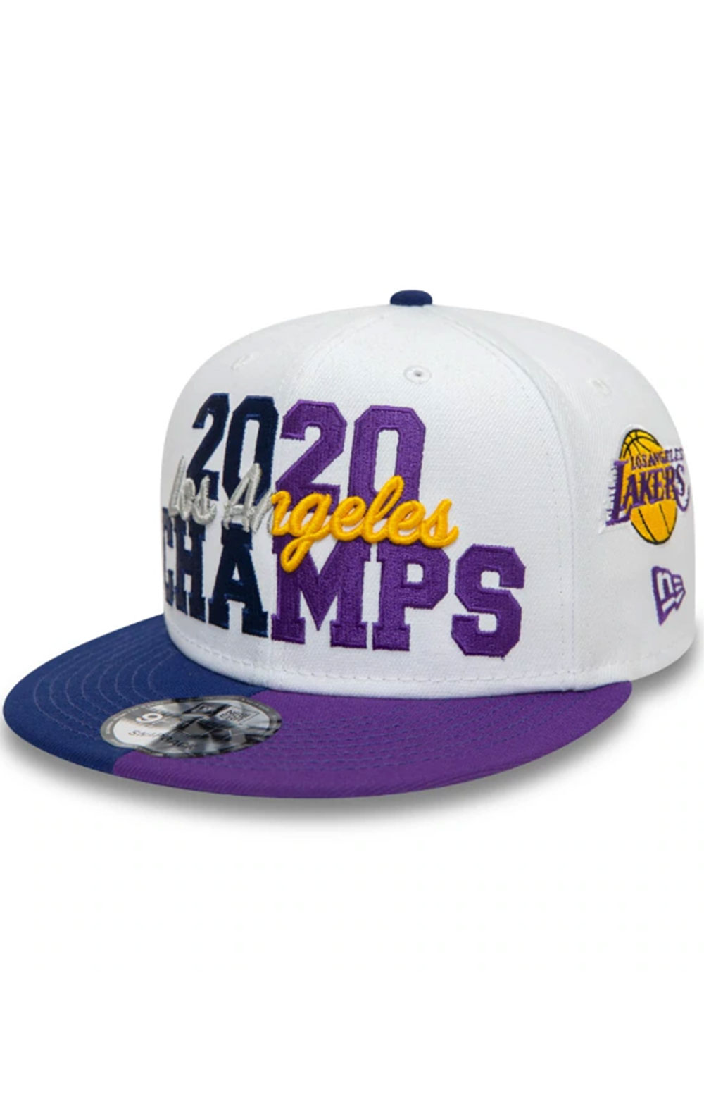 Los Angeles Co Champs 2020 9FIFTY Snap-Back - White  5