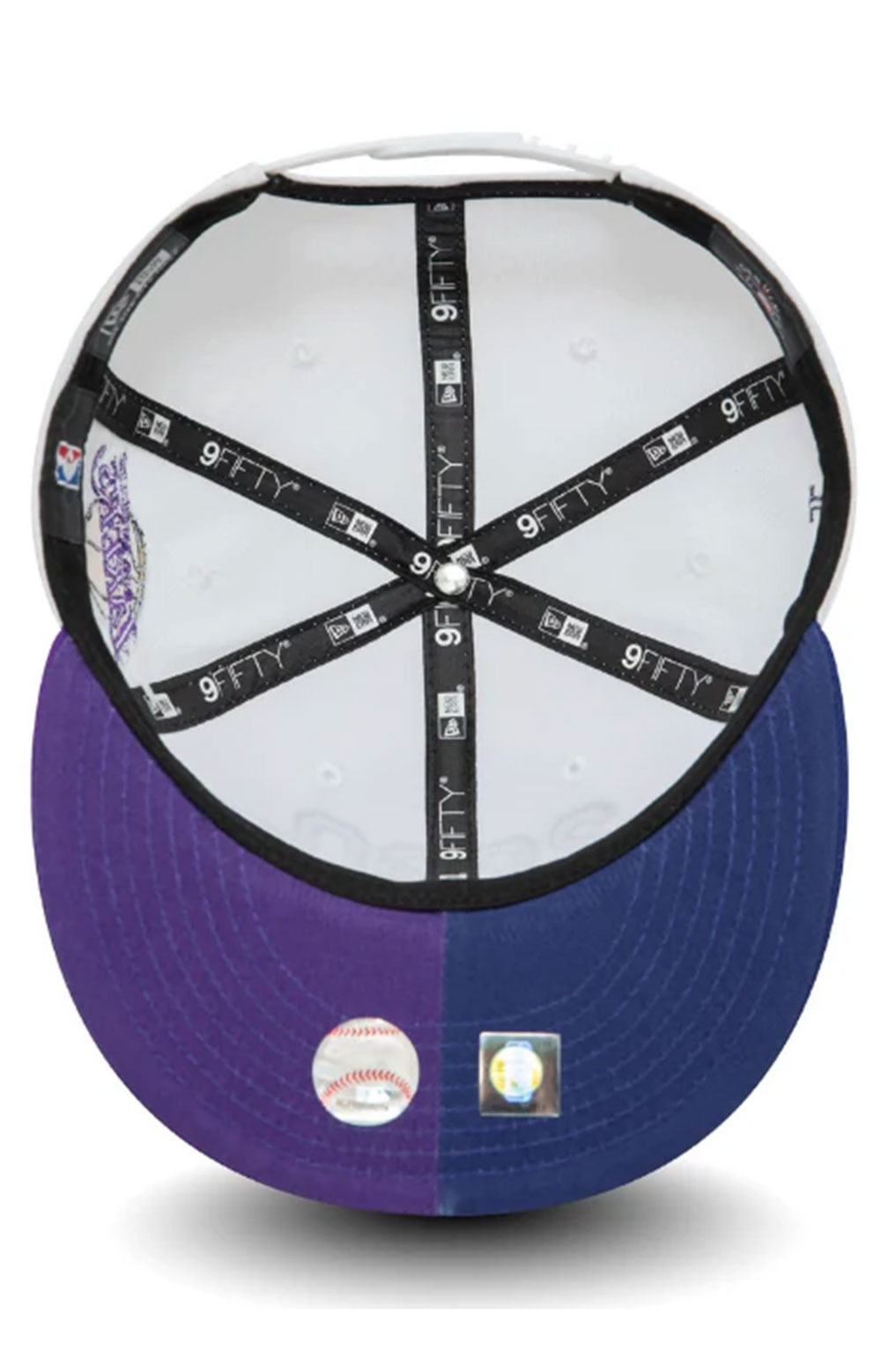 Los Angeles Co Champs 2020 9FIFTY Snap-Back - White  6
