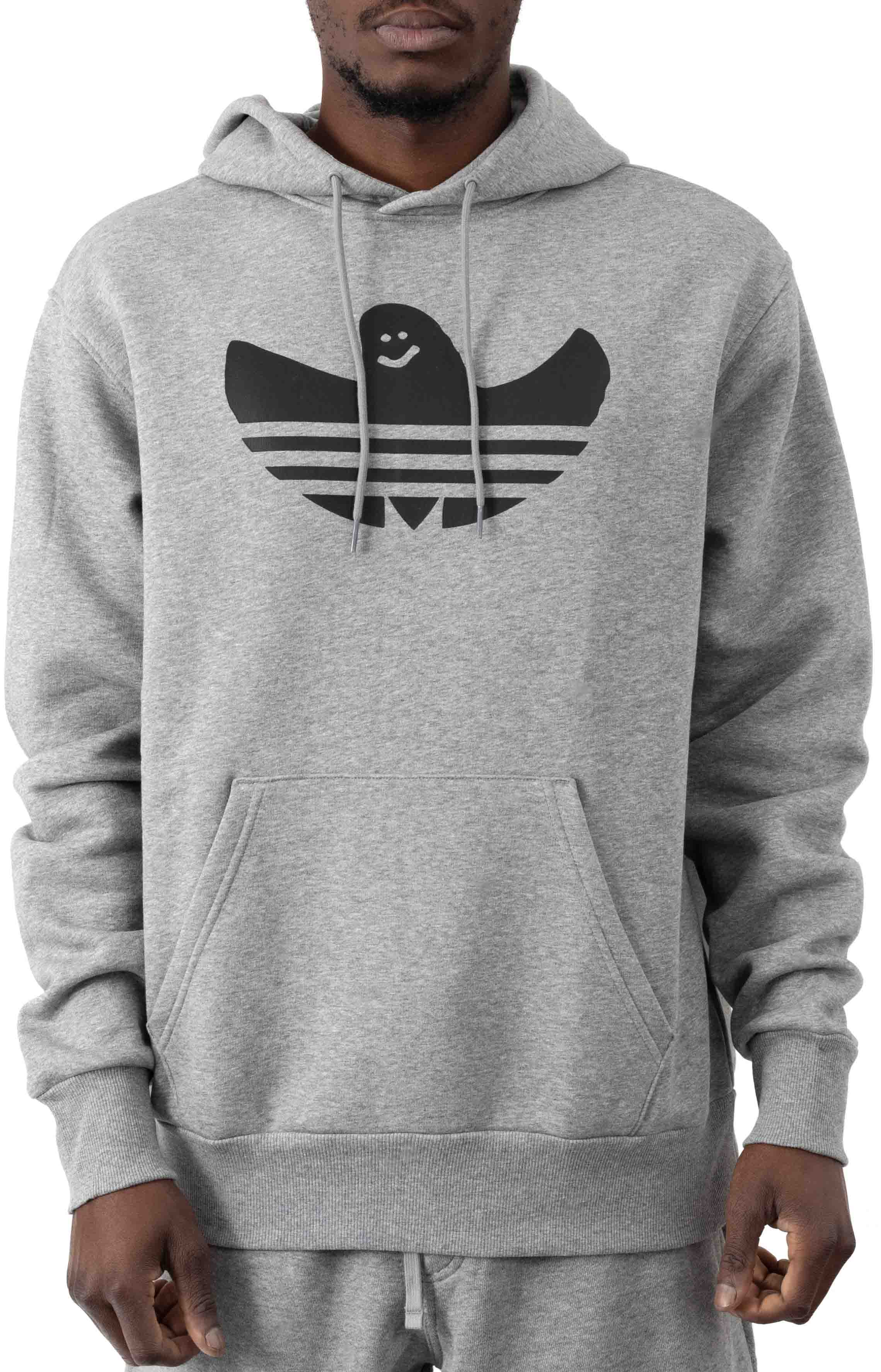 Shmoofoil Logo Pullover Hoodie - Core Heather