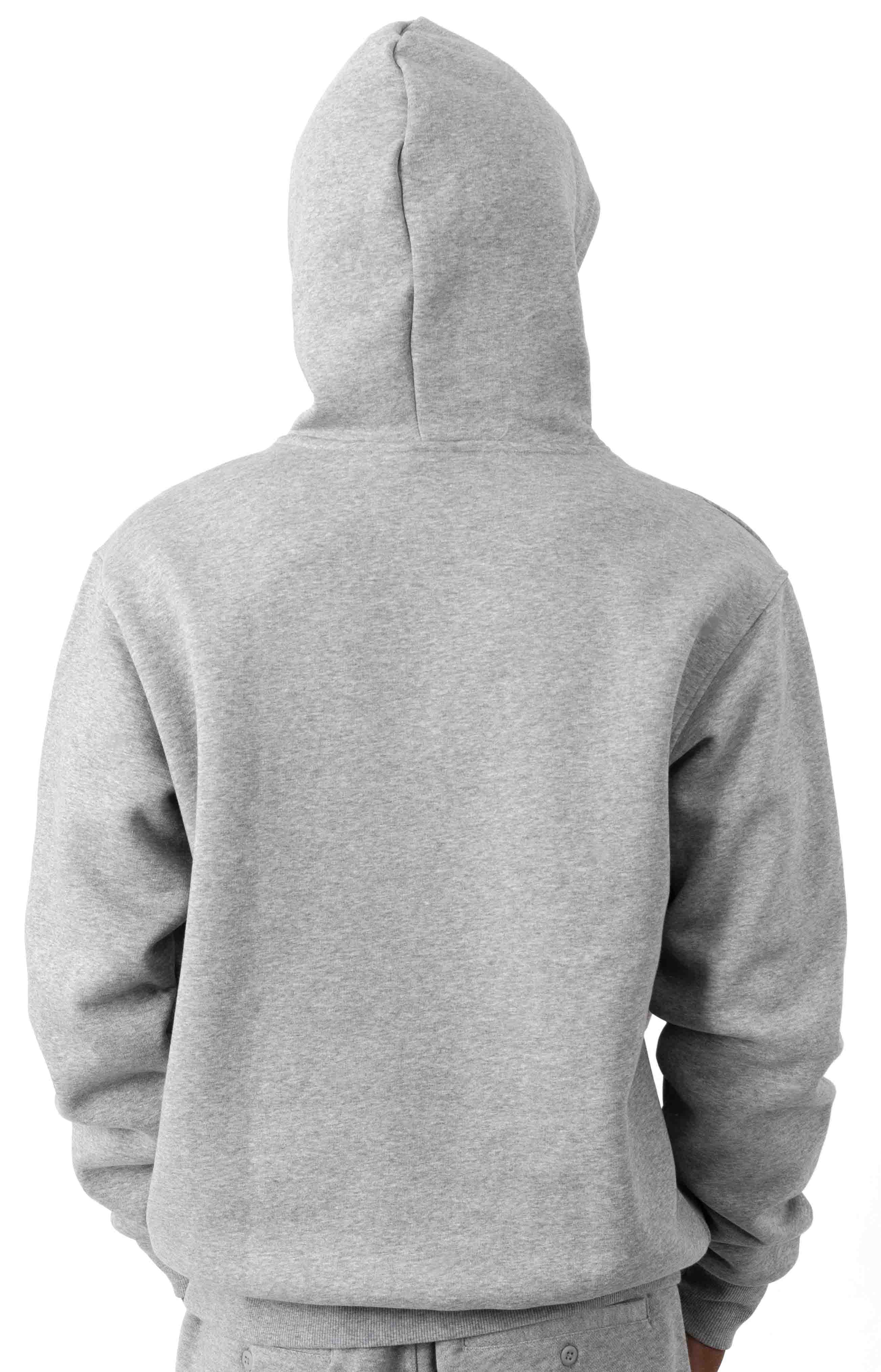 Shmoofoil Logo Pullover Hoodie - Core Heather  3