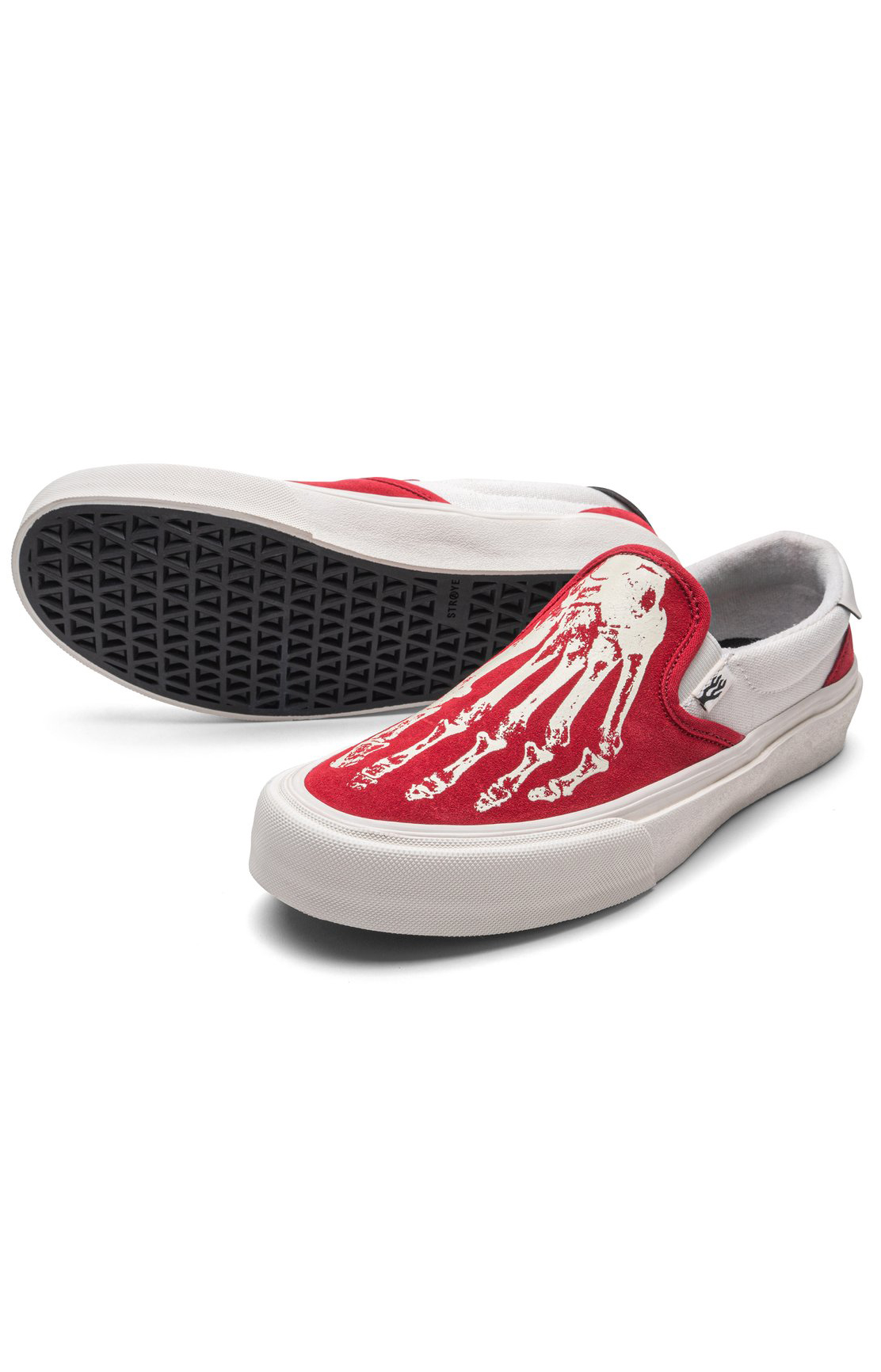 Ventura Shoes - X-Ray Crimson/Cream  3