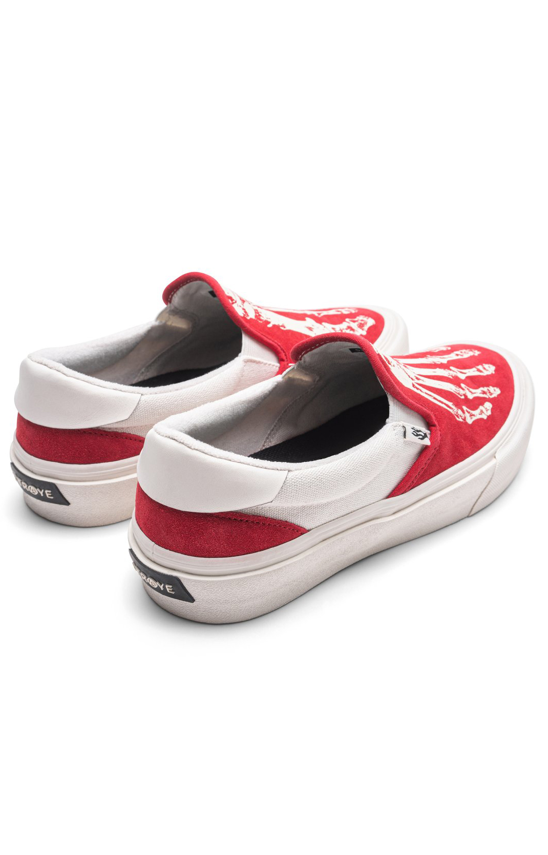 Ventura Shoes - X-Ray Crimson/Cream  4
