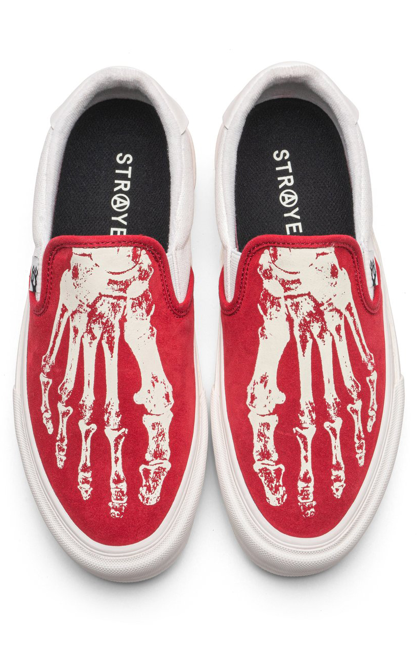 Ventura Shoes - X-Ray Crimson/Cream  7
