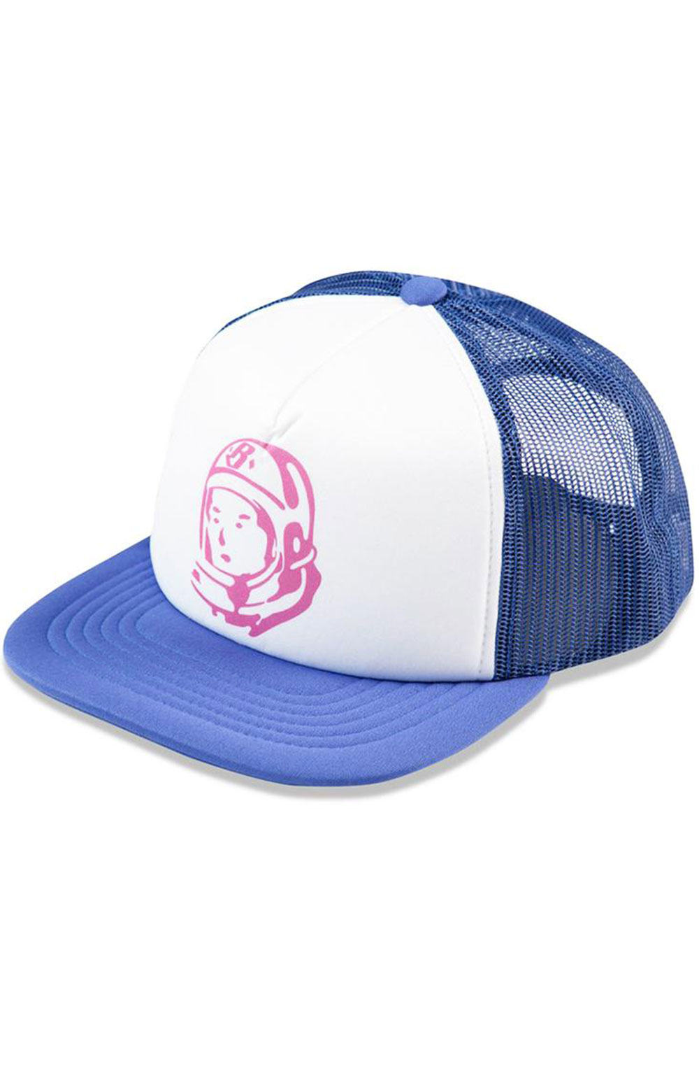 BB Helmet Trucker Hat - Sodalite Blue
