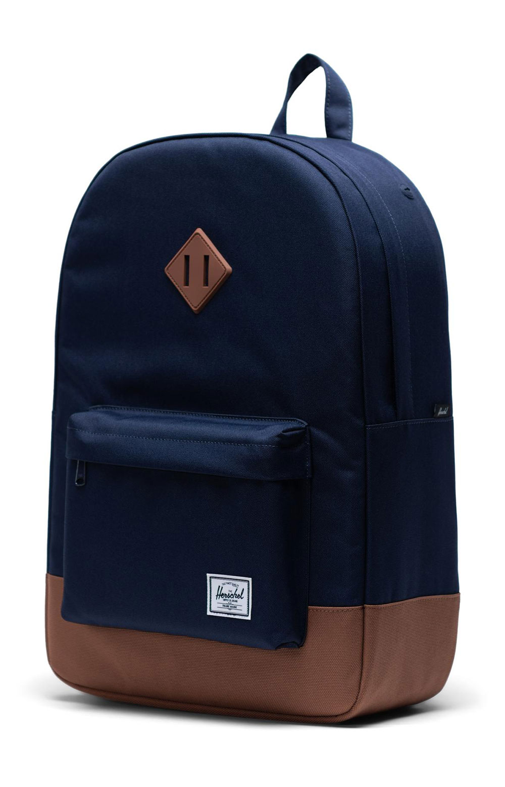 Heritage Backpack - Peacoat/Saddle Brown 3