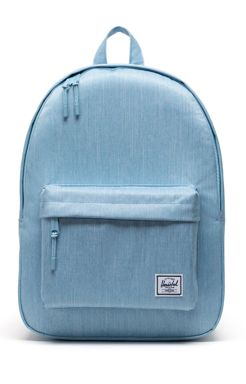Classic Backpack - Light Denim Crosshatch