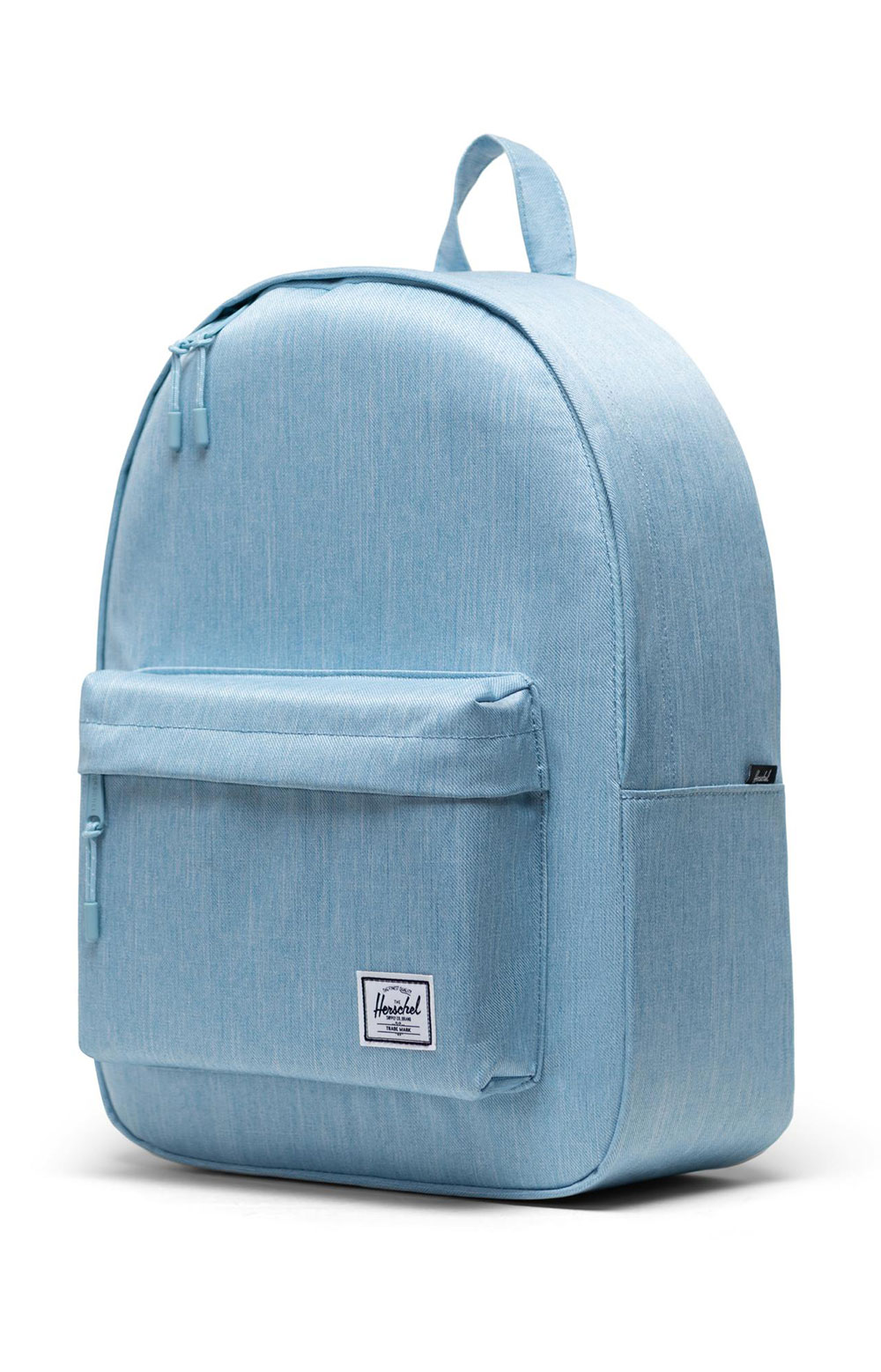 Classic Backpack - Light Denim Crosshatch 3