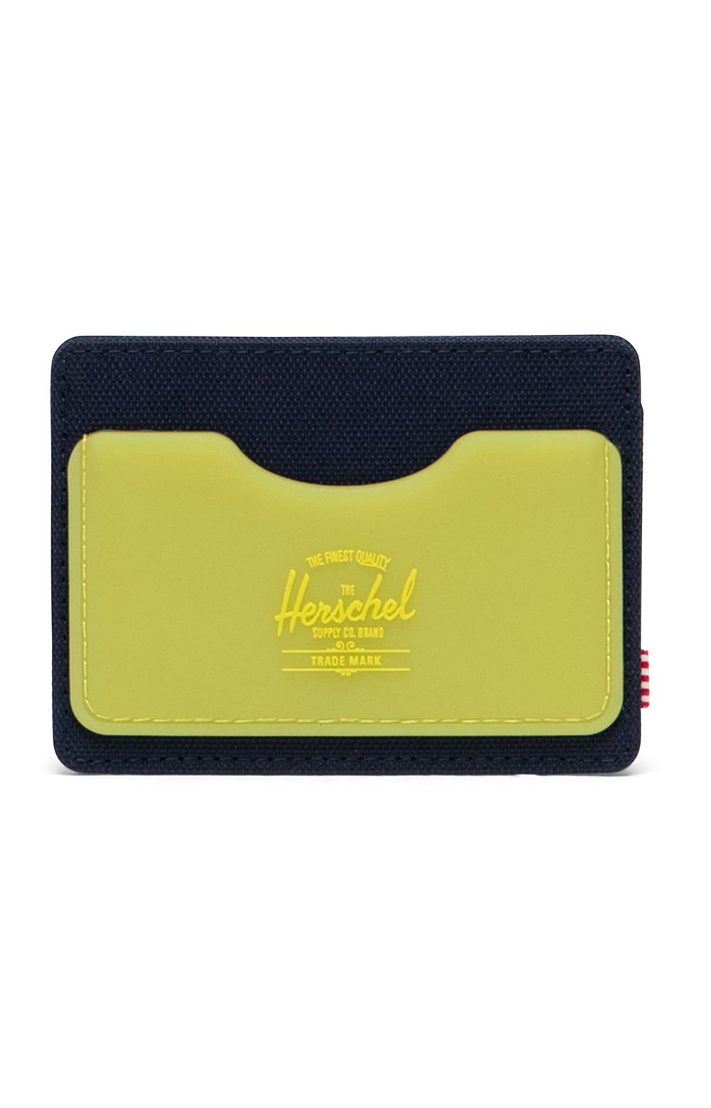 Charlie Wallet - Peacoat/Cyber Yellow