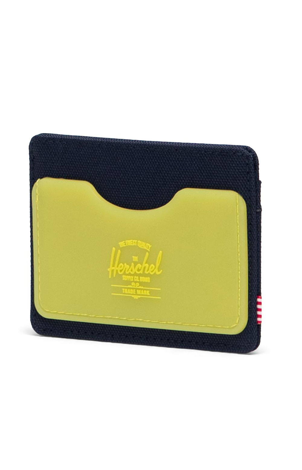 Charlie Wallet - Peacoat/Cyber Yellow 2
