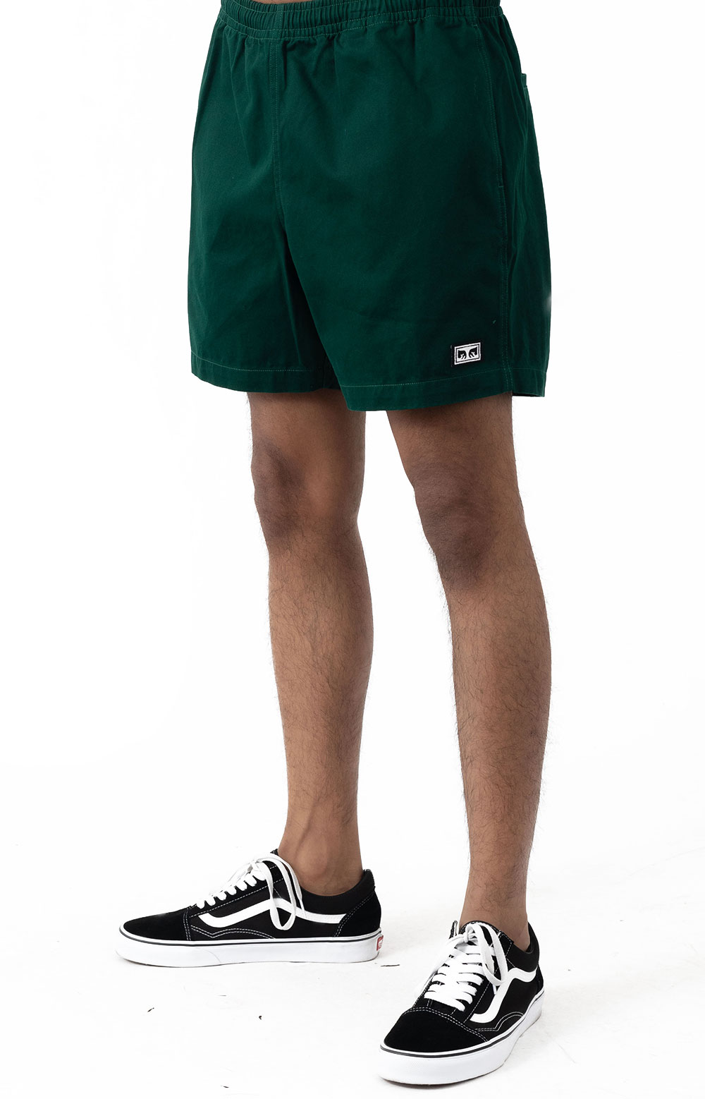 Easy Relaxed Twill Short - Green Dream  2