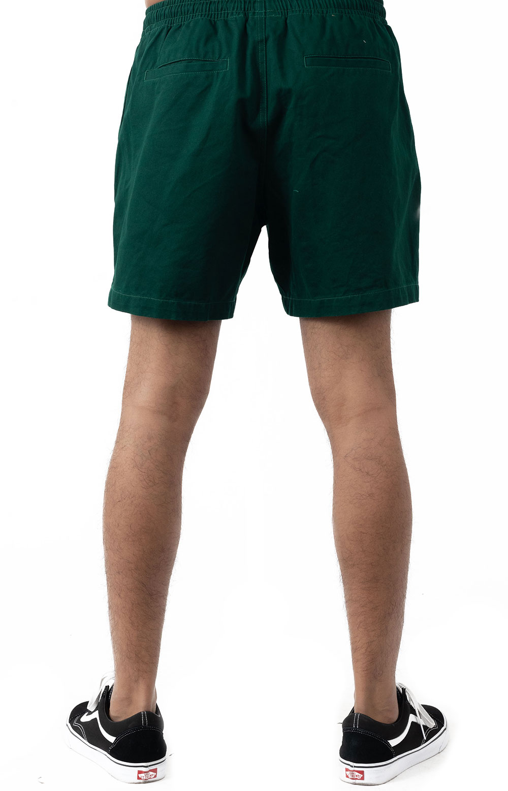 Easy Relaxed Twill Short - Green Dream  3