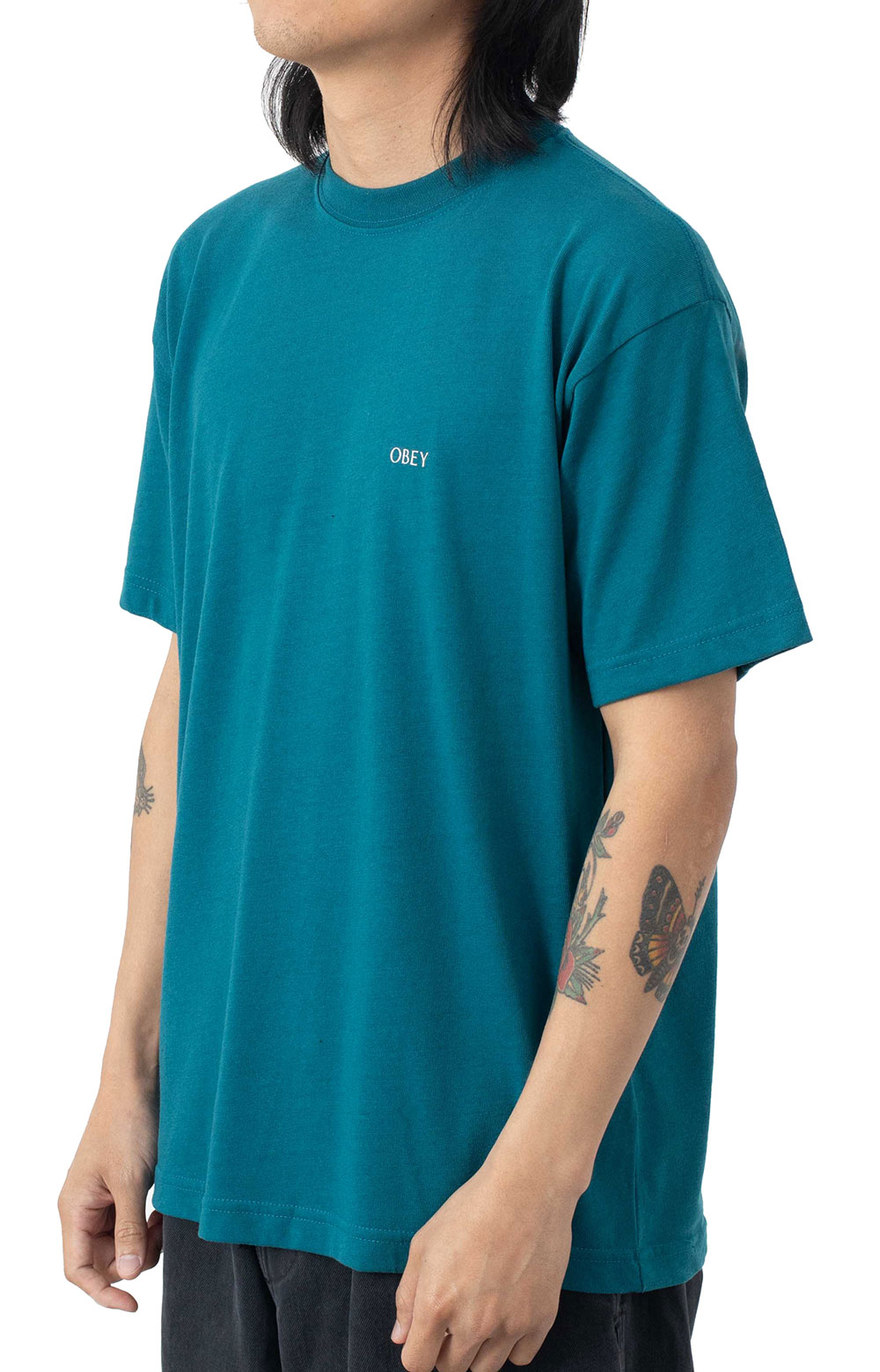 Obey Windmill T-Shirt - Shaded Spruce  3