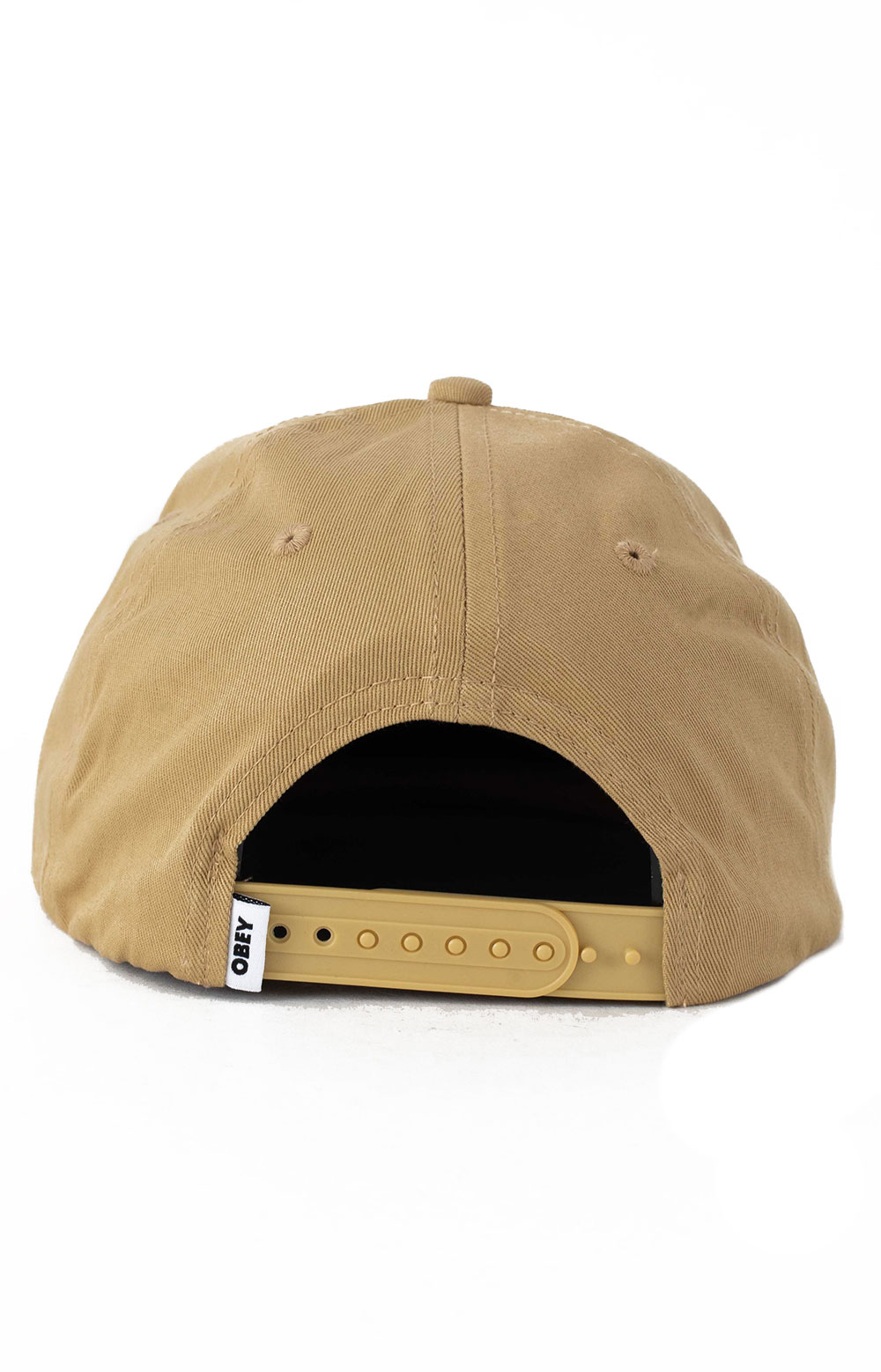 Bold Label Organic Snap-Back Hat - Almond  3