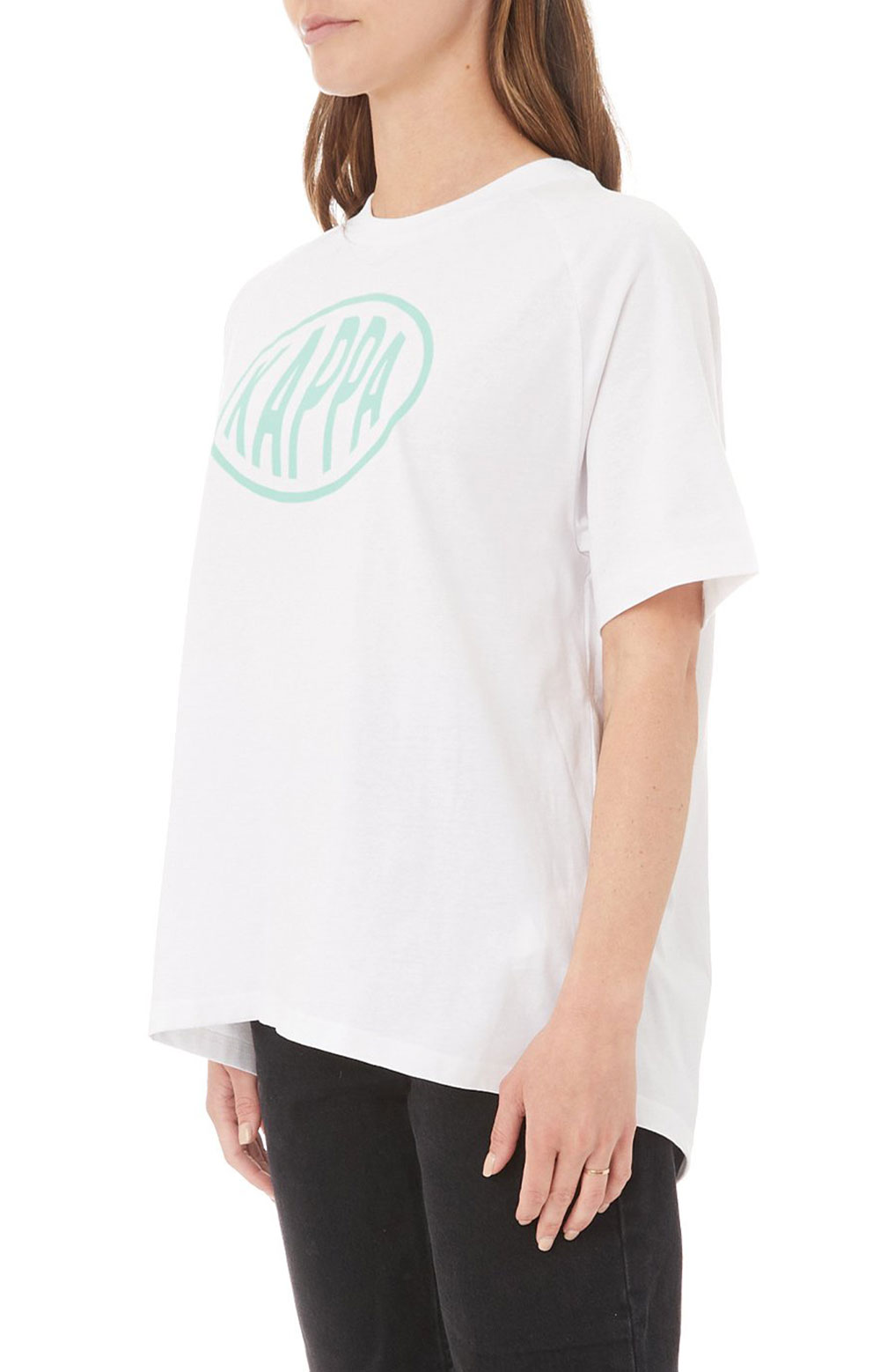 Authentic Pop Emasar Top - White/Green Spring  2